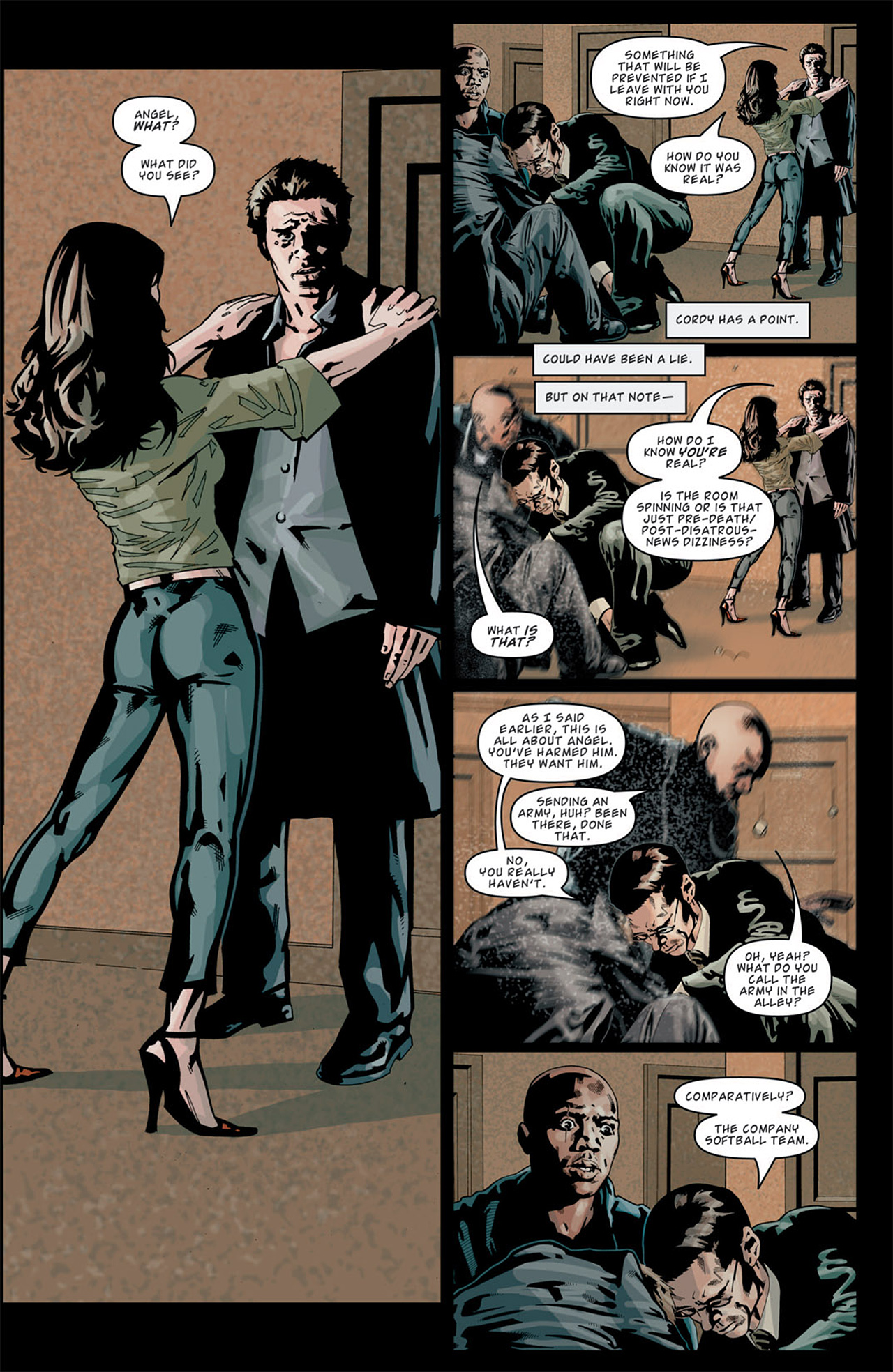 Read online Angel: After The Fall comic -  Issue #13 - 8