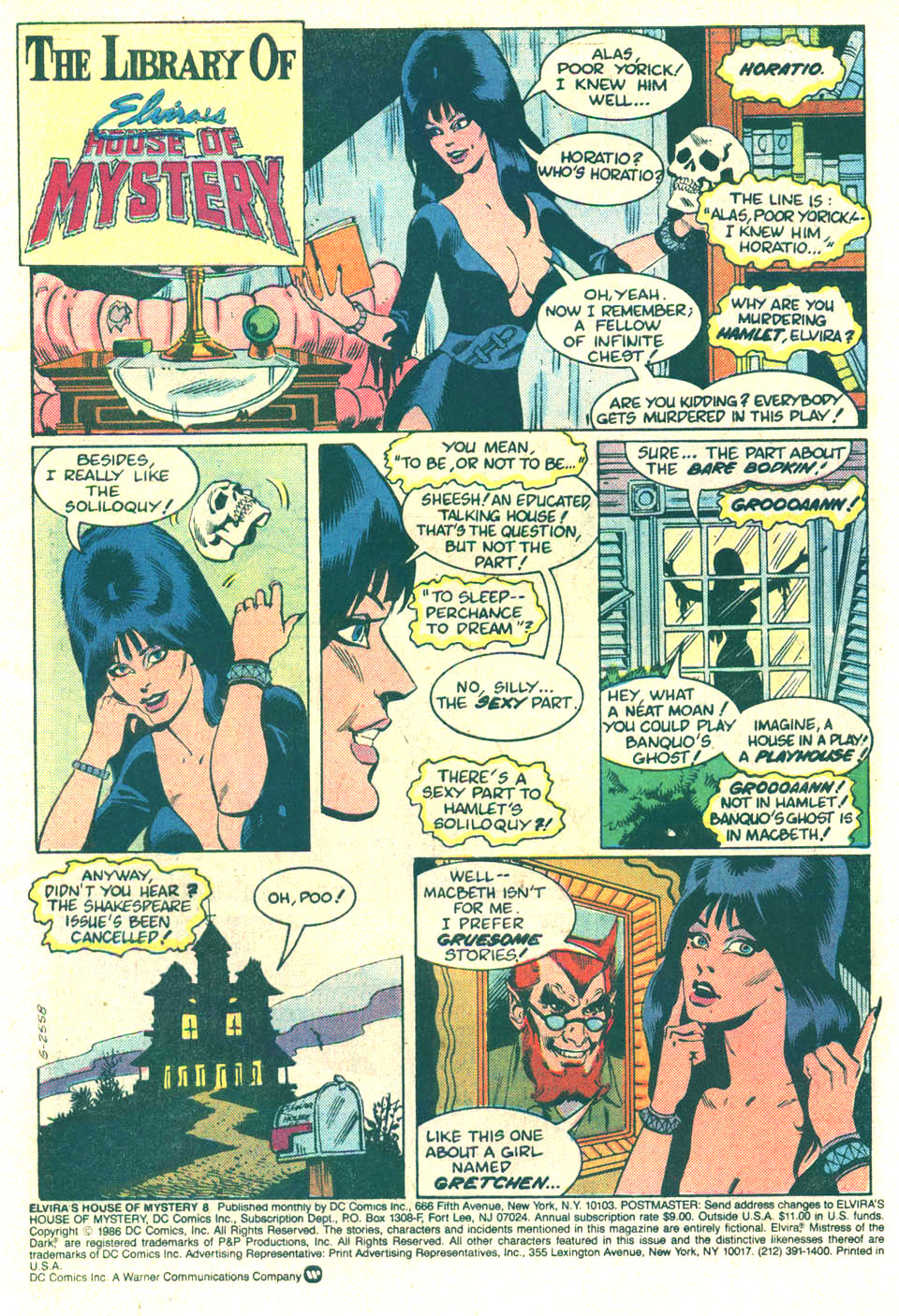 Elvira's House of Mystery Issue #8 #9 - English 3