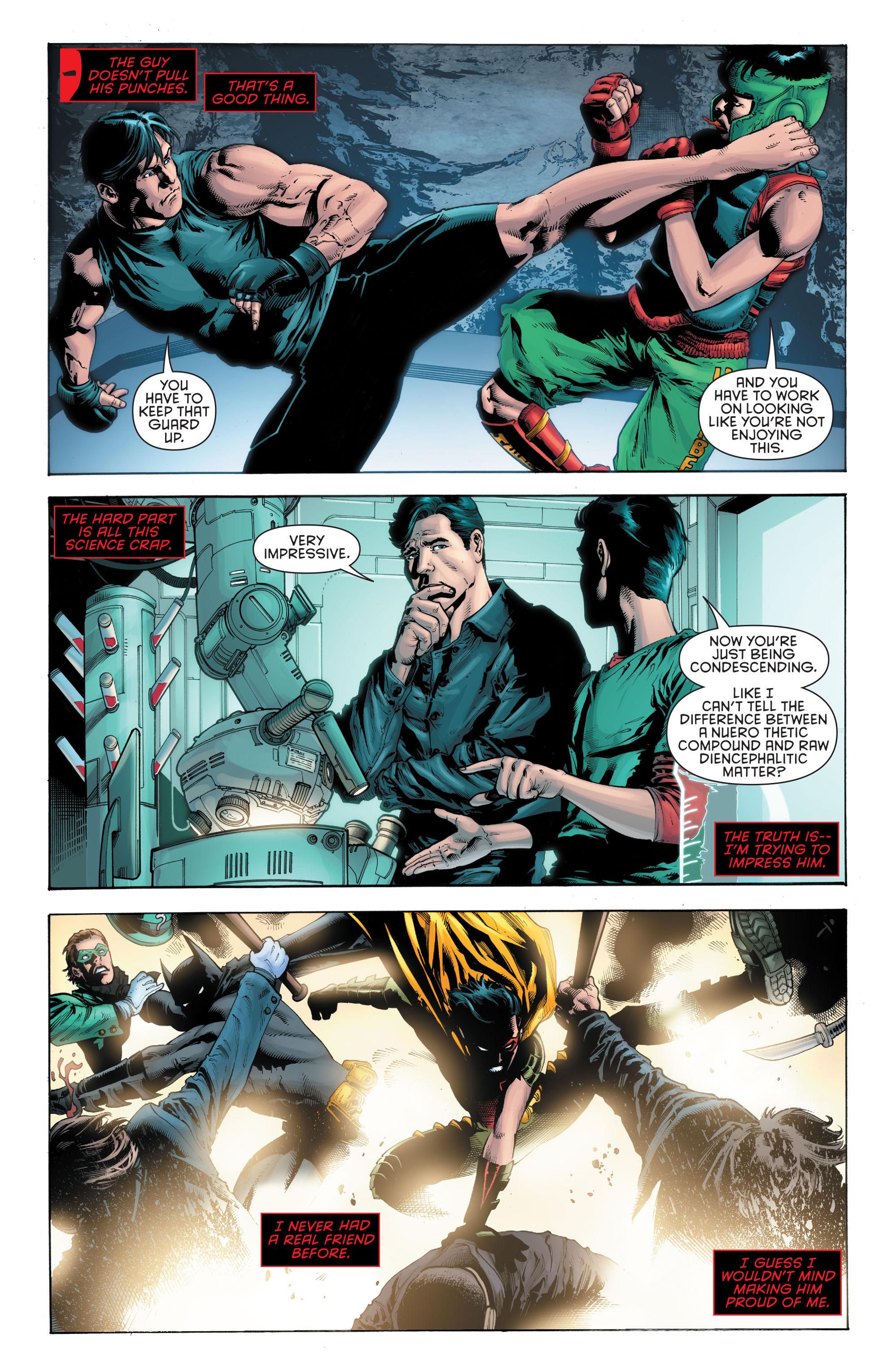 Read online Secret Origins (2014) comic -  Issue #5 - 17