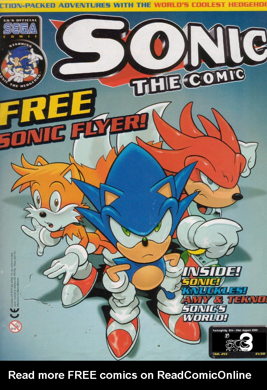 Read online Sonic the Comic comic -  Issue #213 - 1