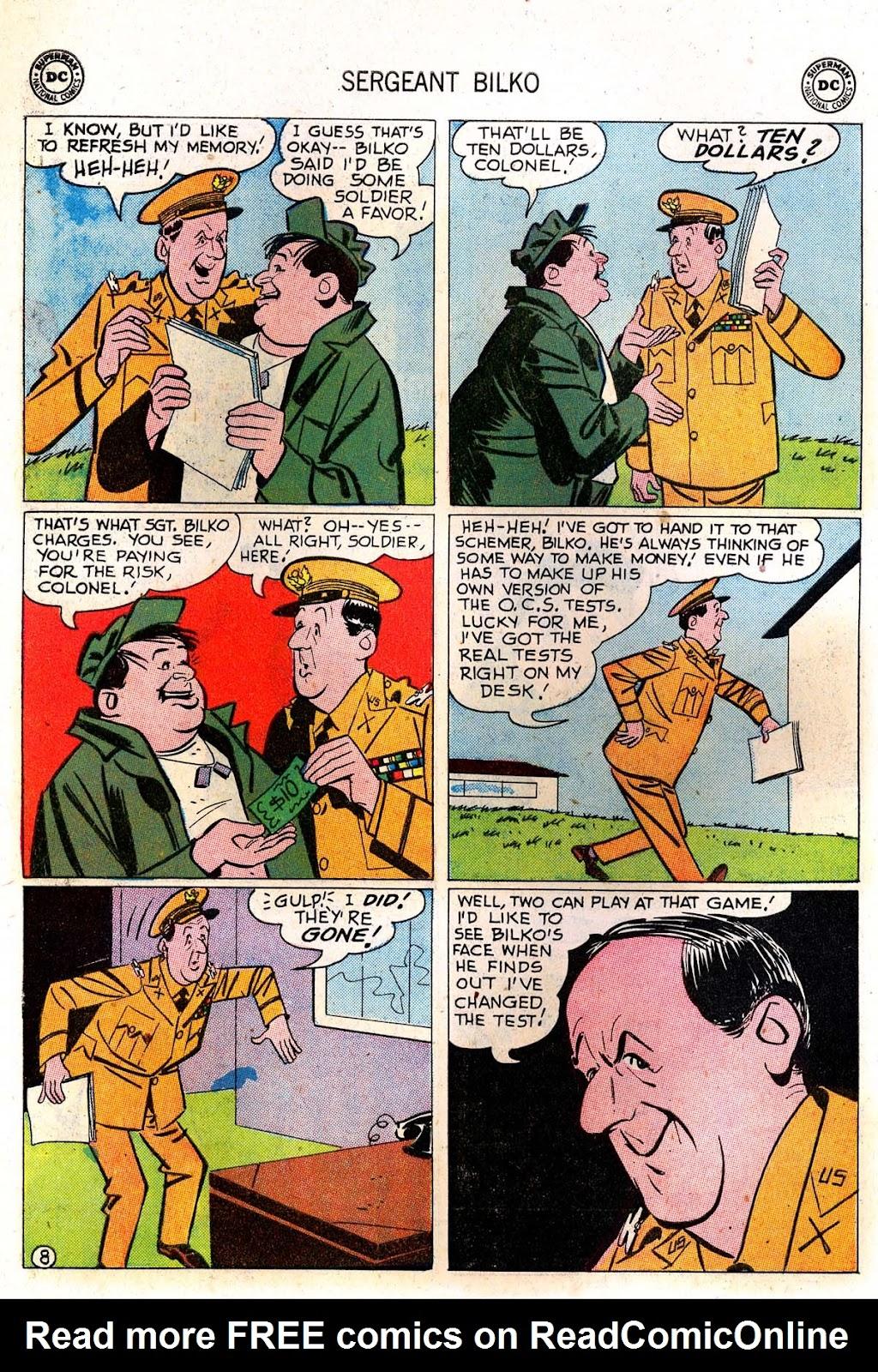Sergeant Bilko issue 7 - Page 10
