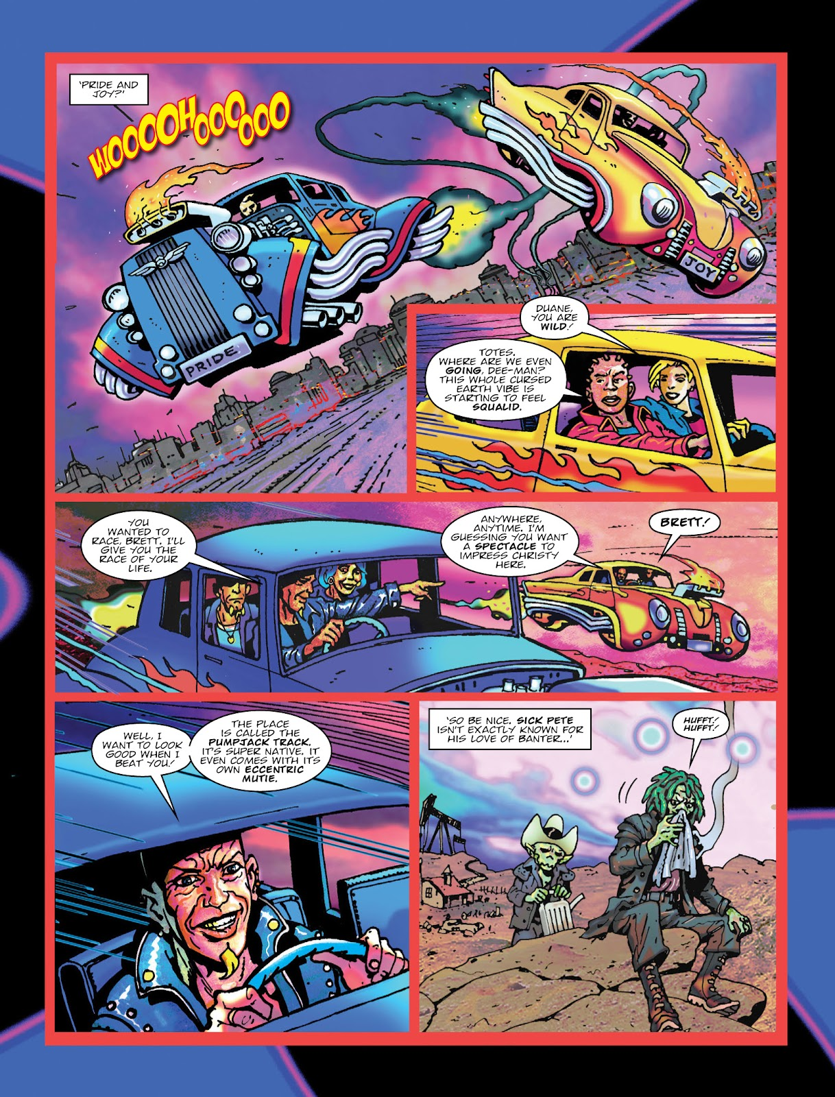 Read online 2000 AD comic -  Issue #2033 - 4