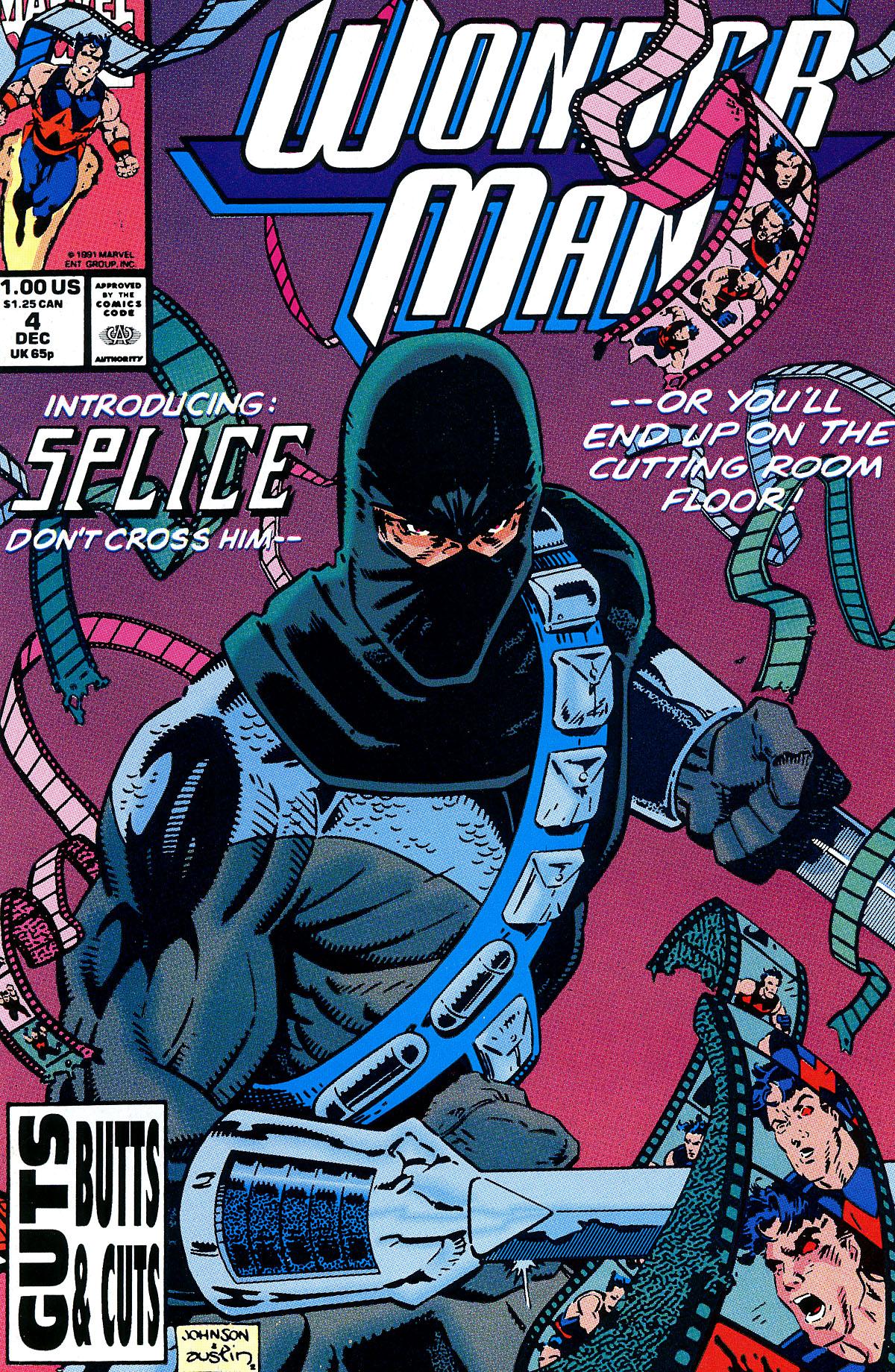 Read online Wonder Man (1991) comic -  Issue #4 - 1
