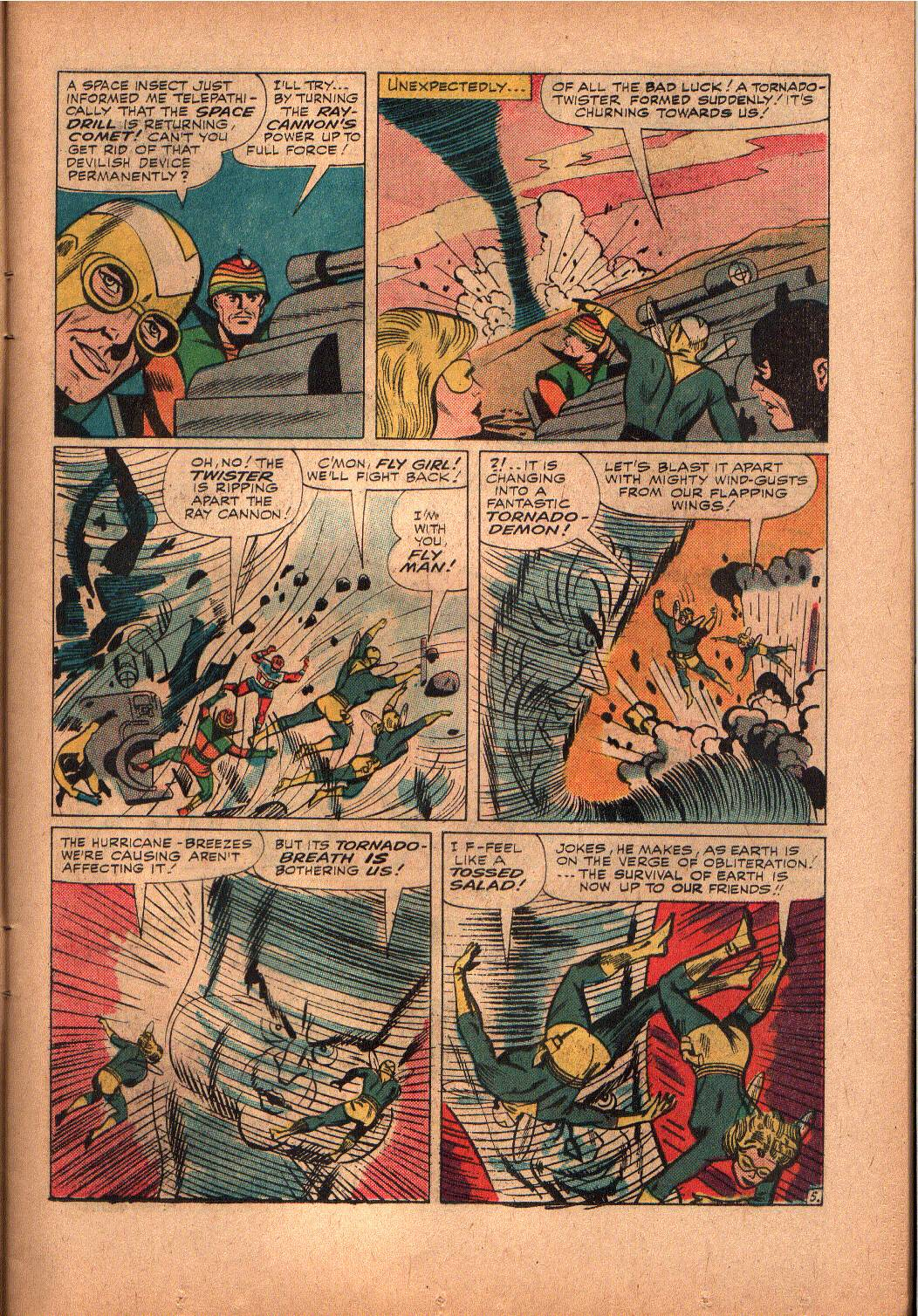 The Mighty Crusaders (1965) Issue #2 #2 - English 6