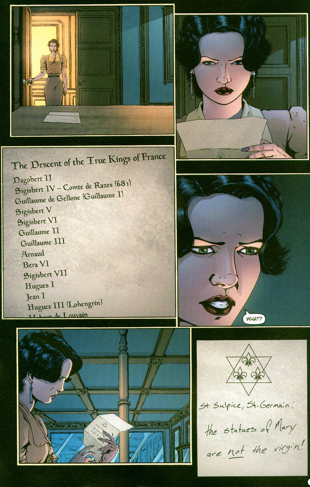 Read online Rex Mundi comic -  Issue #12 - 21