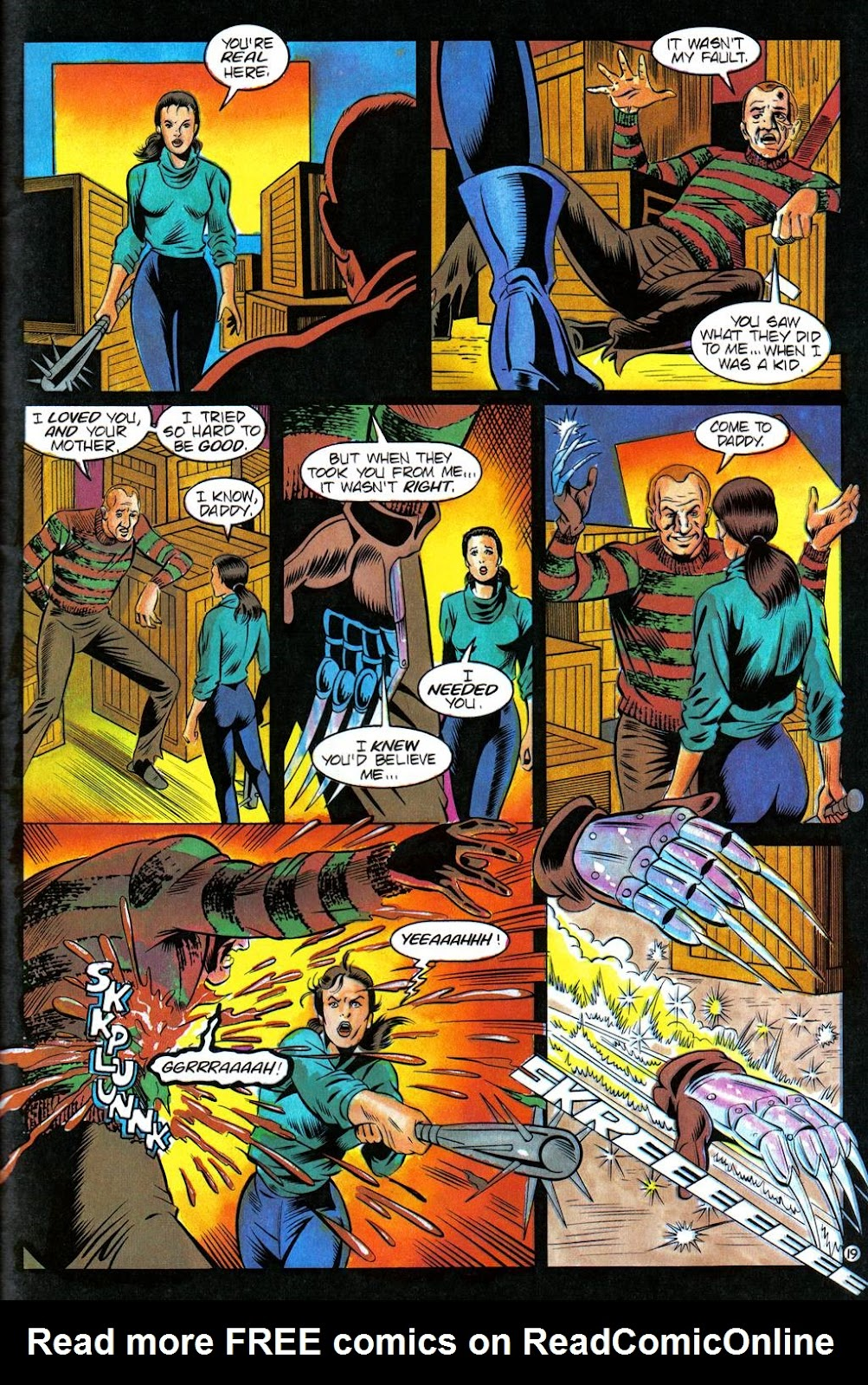 Read online Freddy's Dead: The Final Nightmare comic -  Issue #3 - 22