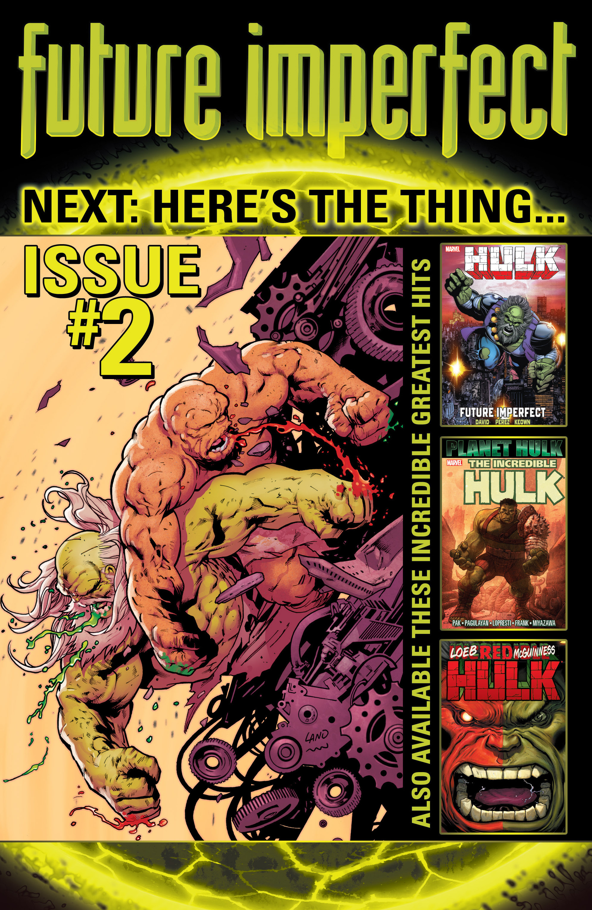 Read online Future Imperfect comic -  Issue #1 - 22
