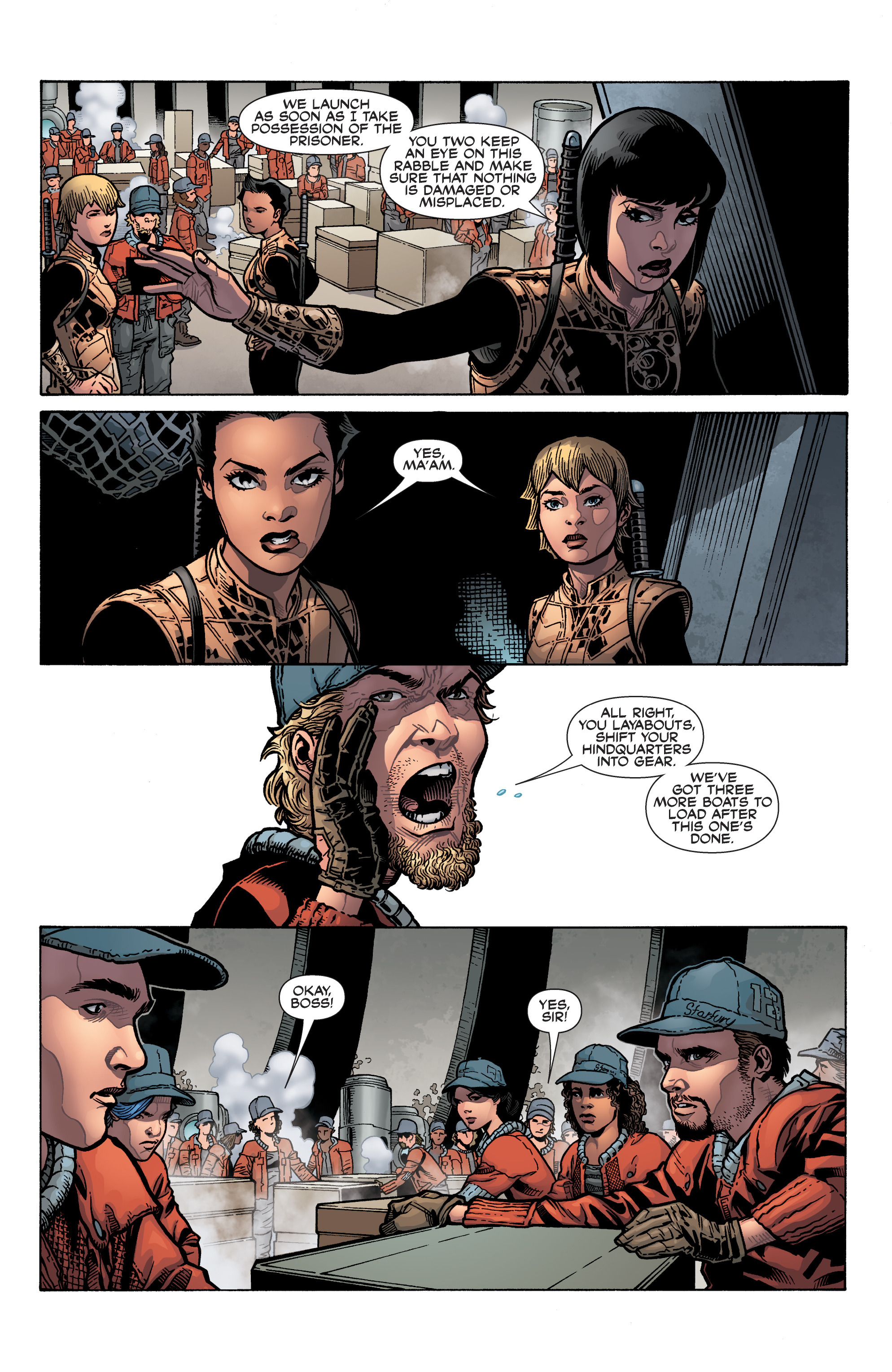 Read online Serenity: Firefly Class 03-K64 – No Power in the 'Verse comic -  Issue #5 - 6