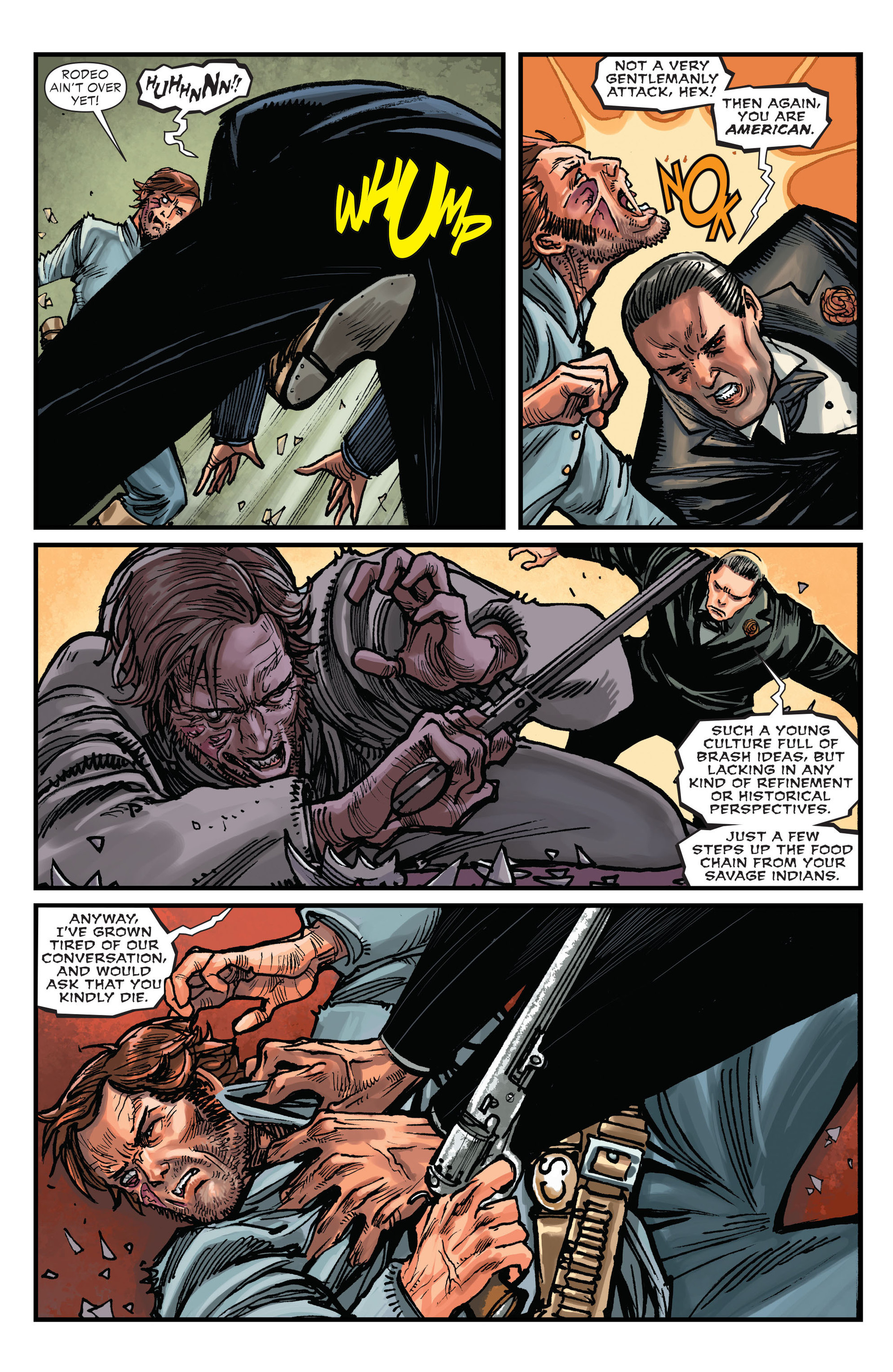 Read online All-Star Western (2011) comic -  Issue #15 - 6