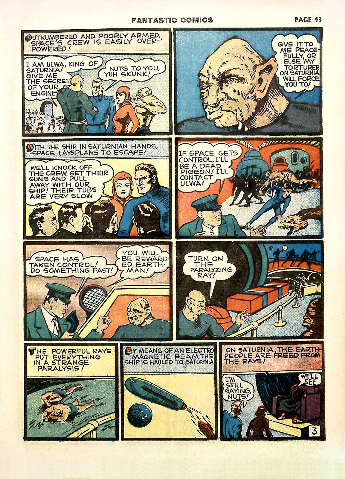 Read online Fantastic Comics comic -  Issue #11 - 46