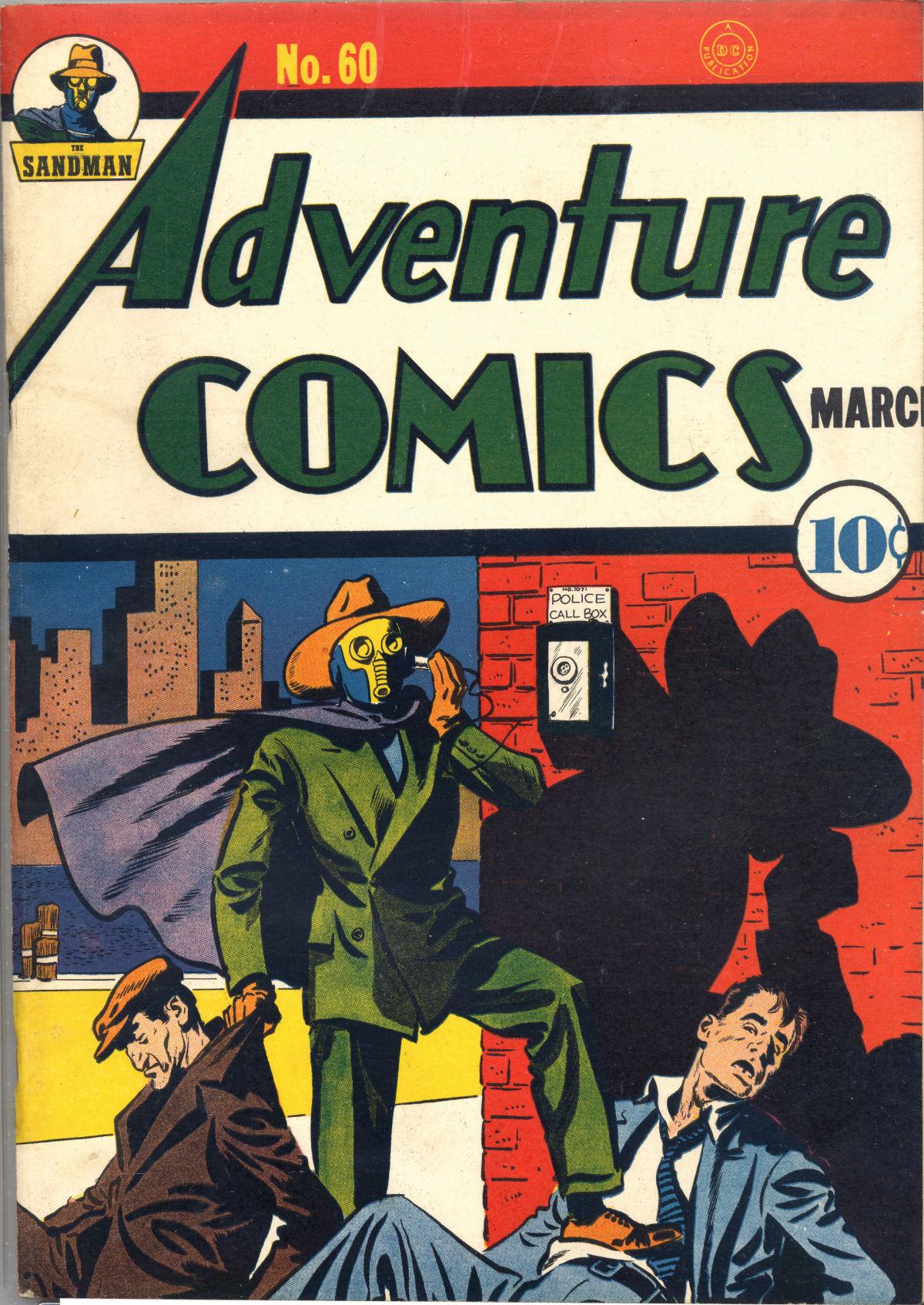 Read online Adventure Comics (1938) comic -  Issue #60 - 2