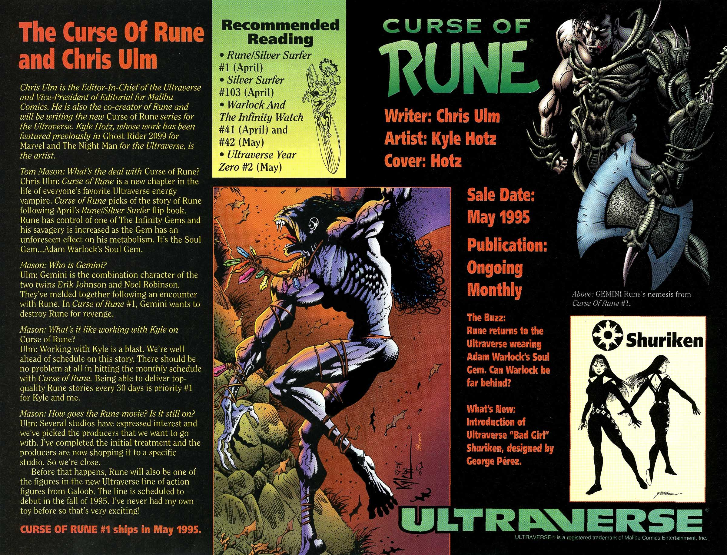 Read online Rune (1994) comic -  Issue #8 - 29