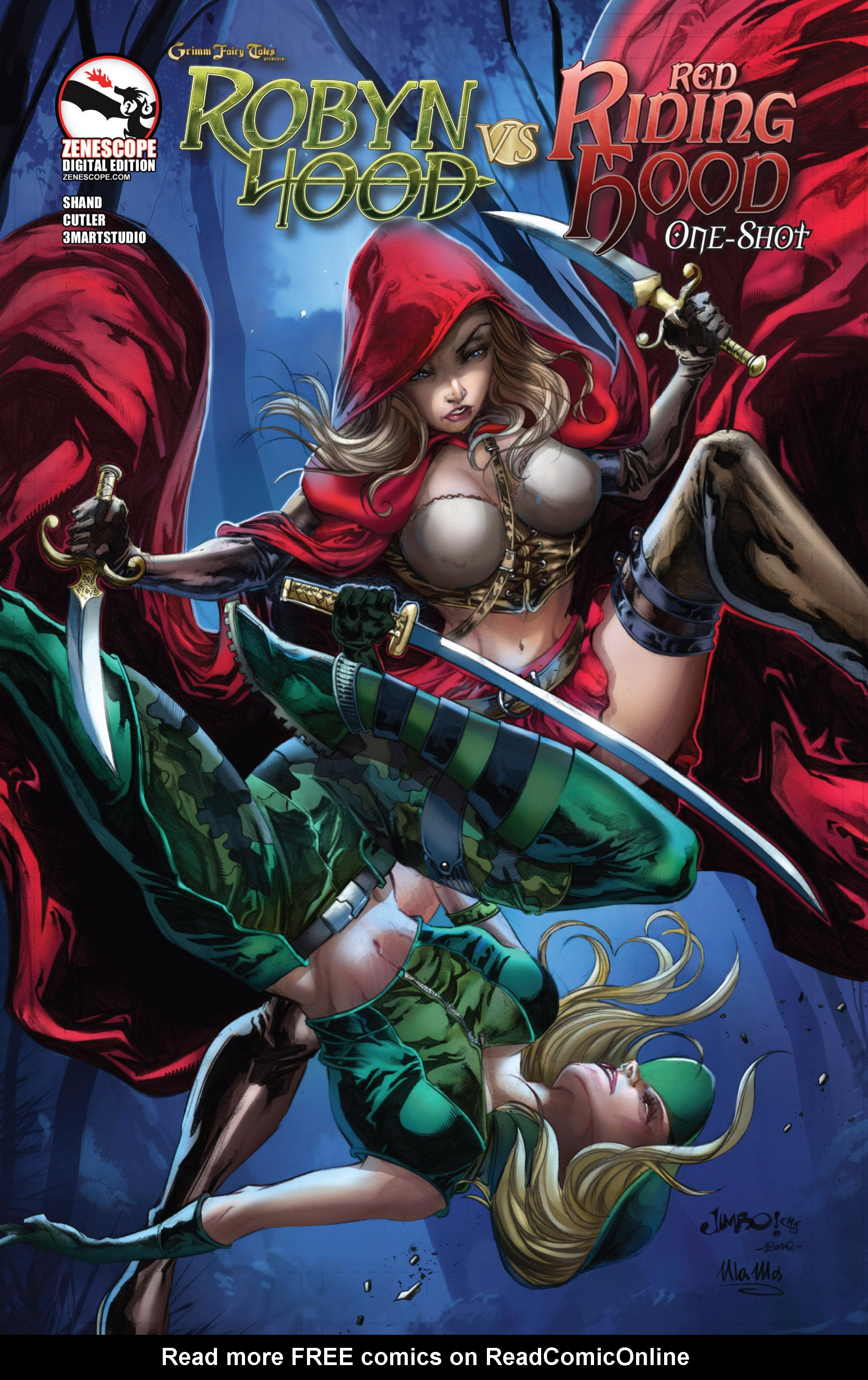 Grimm Fairy Tales presents Robyn Hood vs. Red Riding Hood Full Page 1