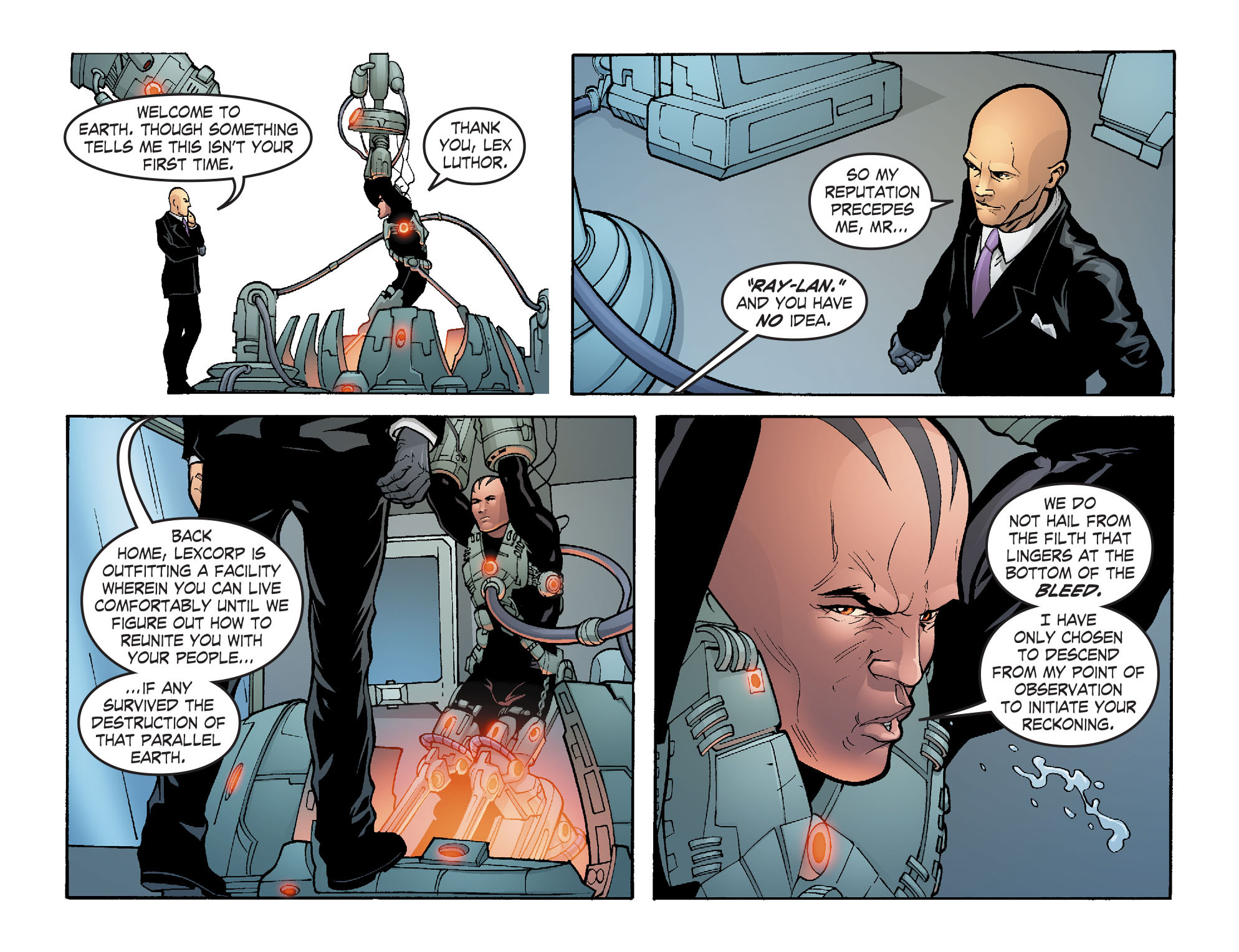 Read online Smallville: Alien comic -  Issue #5 - 16