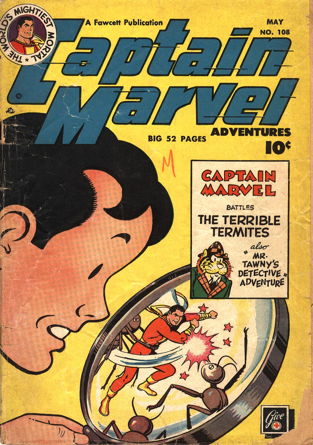 Captain Marvel Adventures 108 Page 1