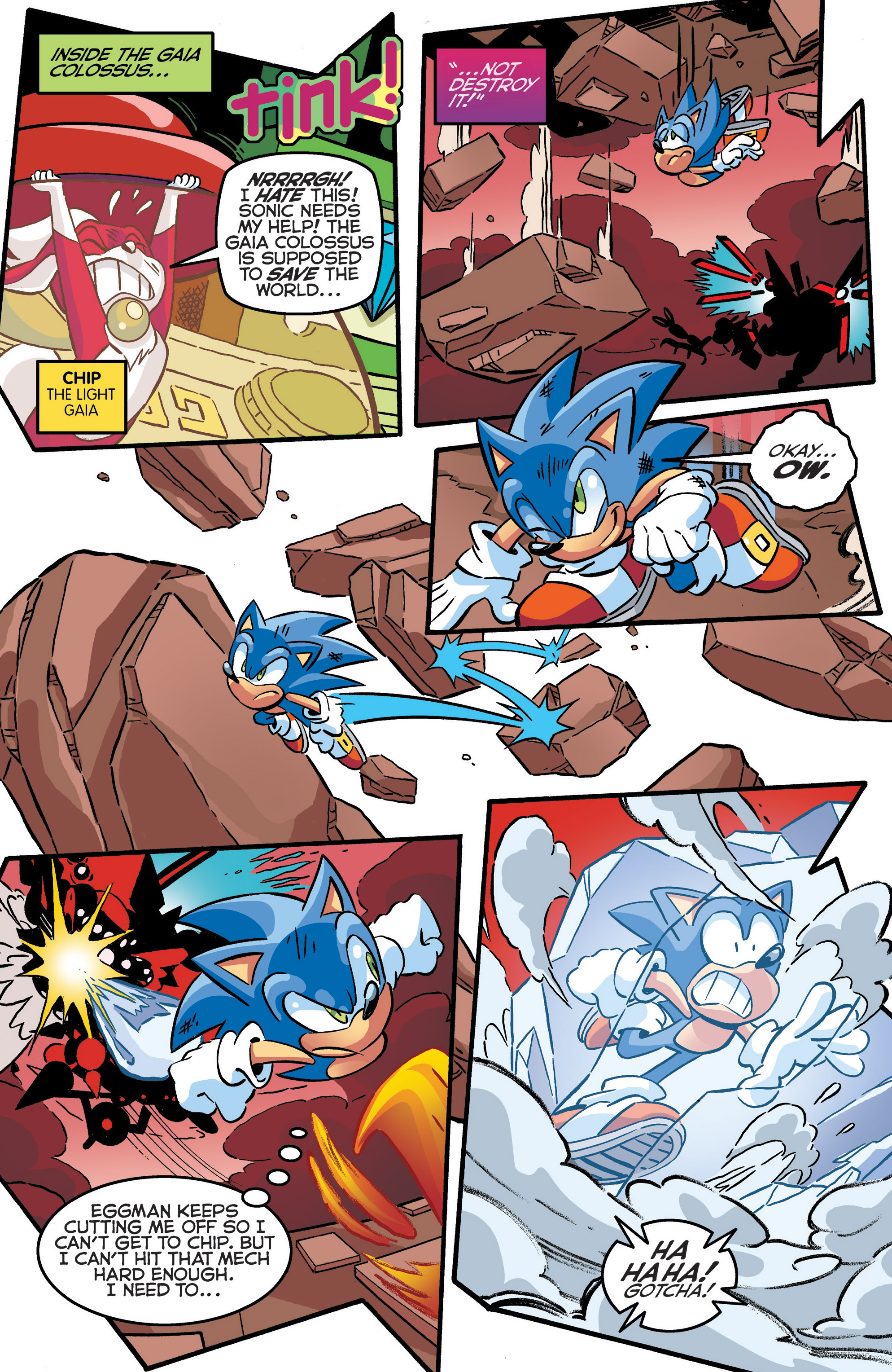 Read online Sonic The Hedgehog comic -  Issue #286 - 11