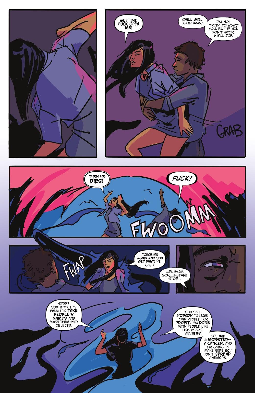 Read online Black (AF): Devil's Dye comic -  Issue #2 - 19