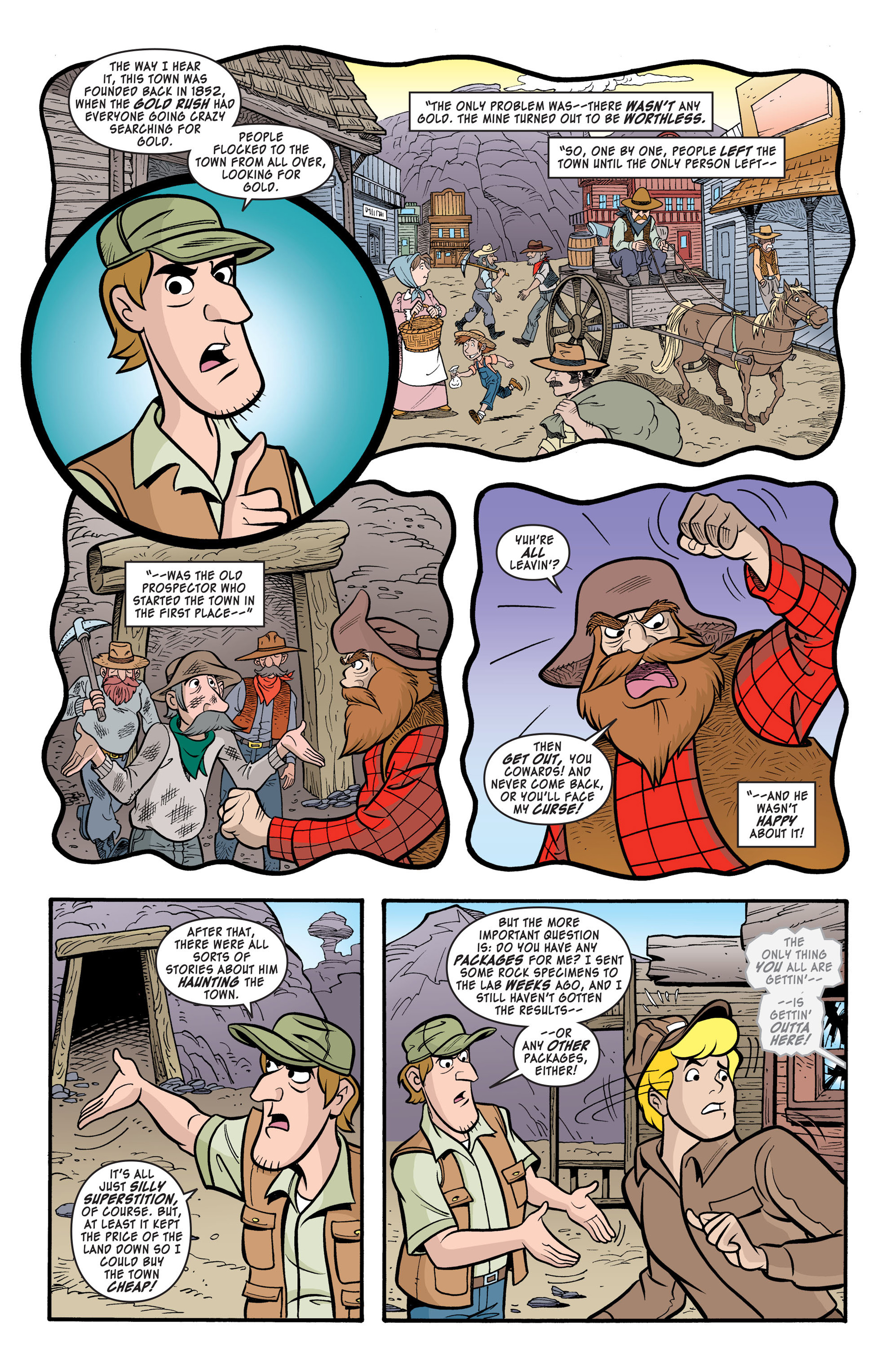 Read online Scooby-Doo: Where Are You? comic -  Issue #40 - 6