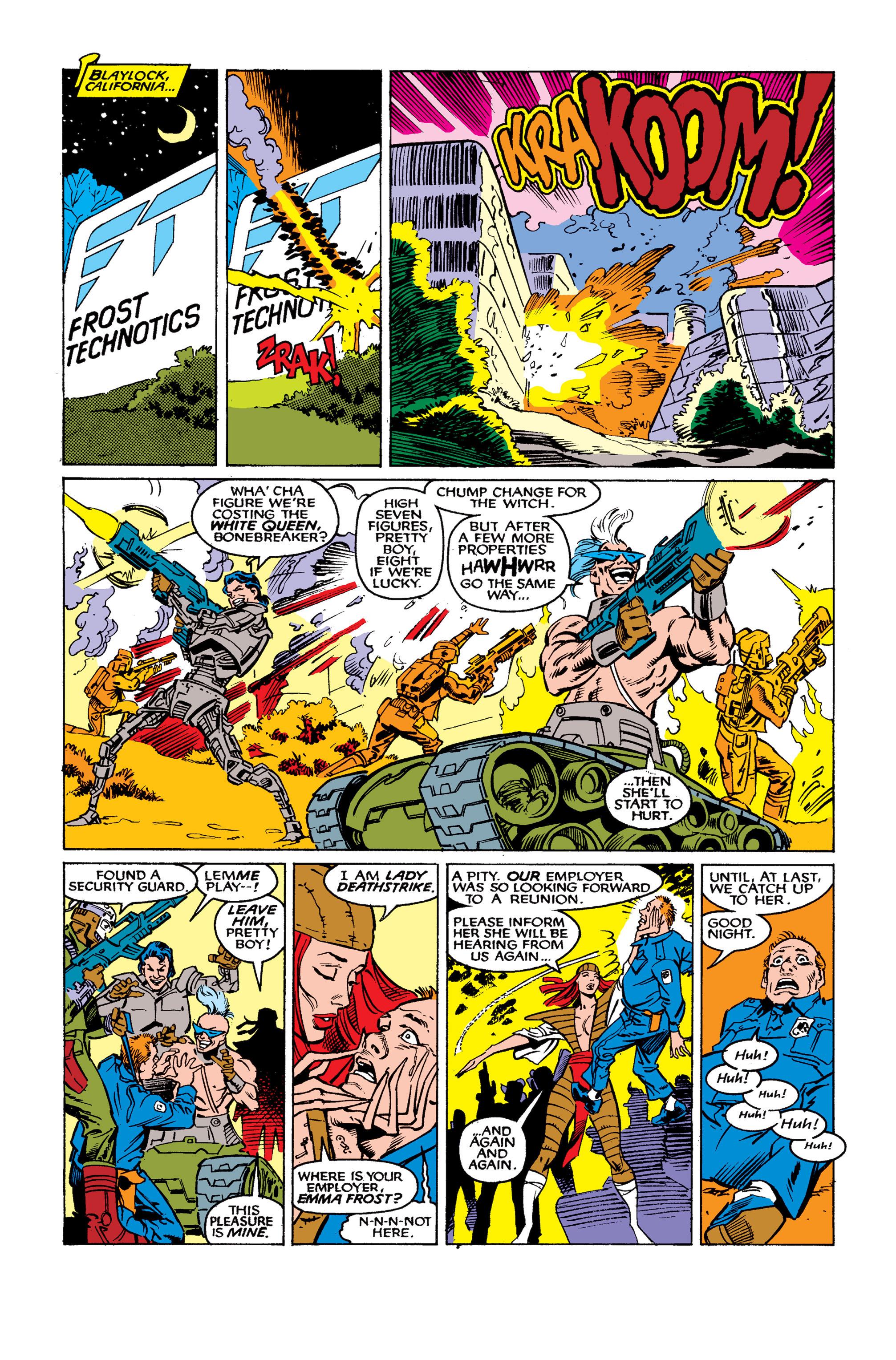 Read online Uncanny X-Men (1963) comic -  Issue #262 - 7