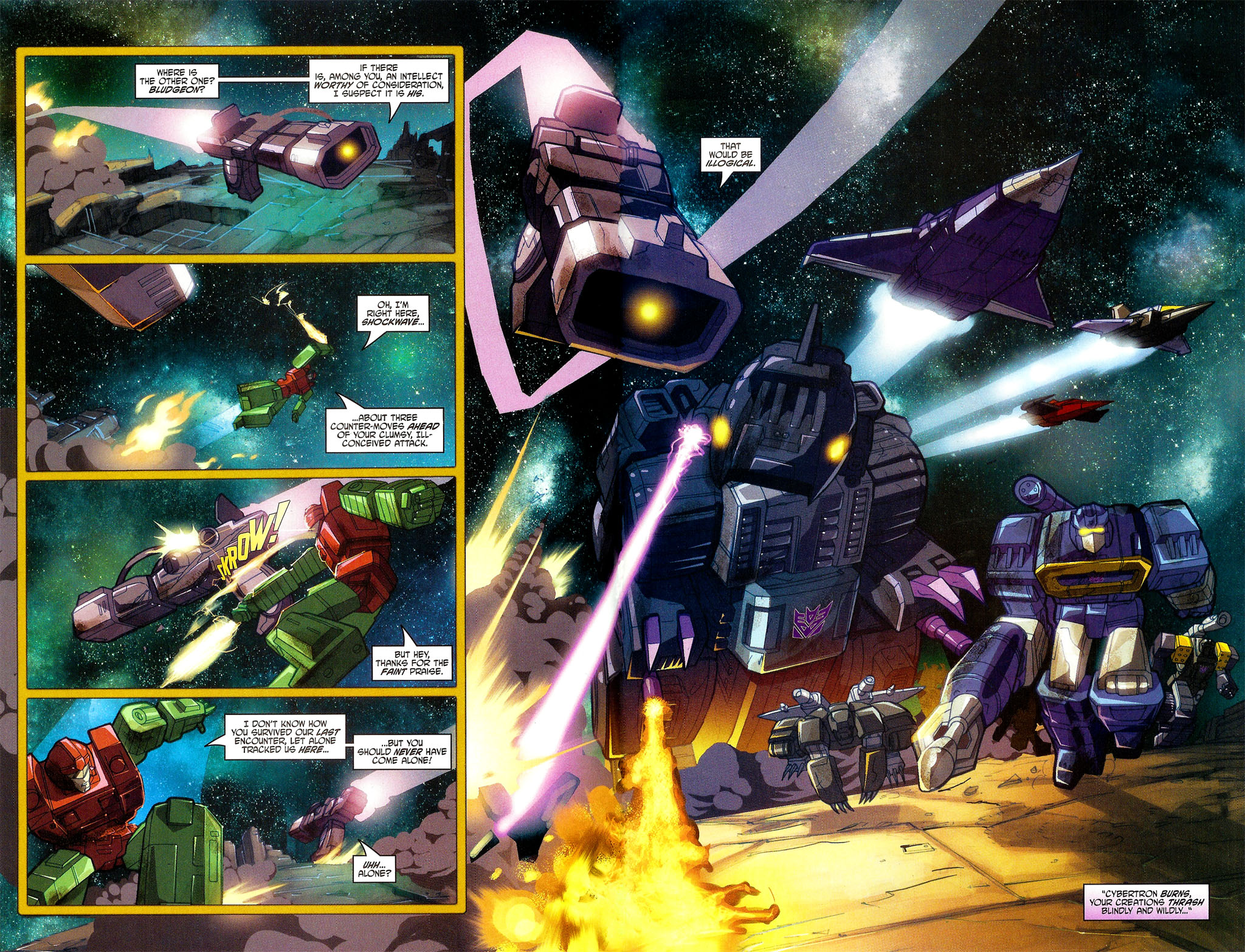 "Read online Transformers War Within: ""The Dark Ages"" comic -  Issue #6 - 3"