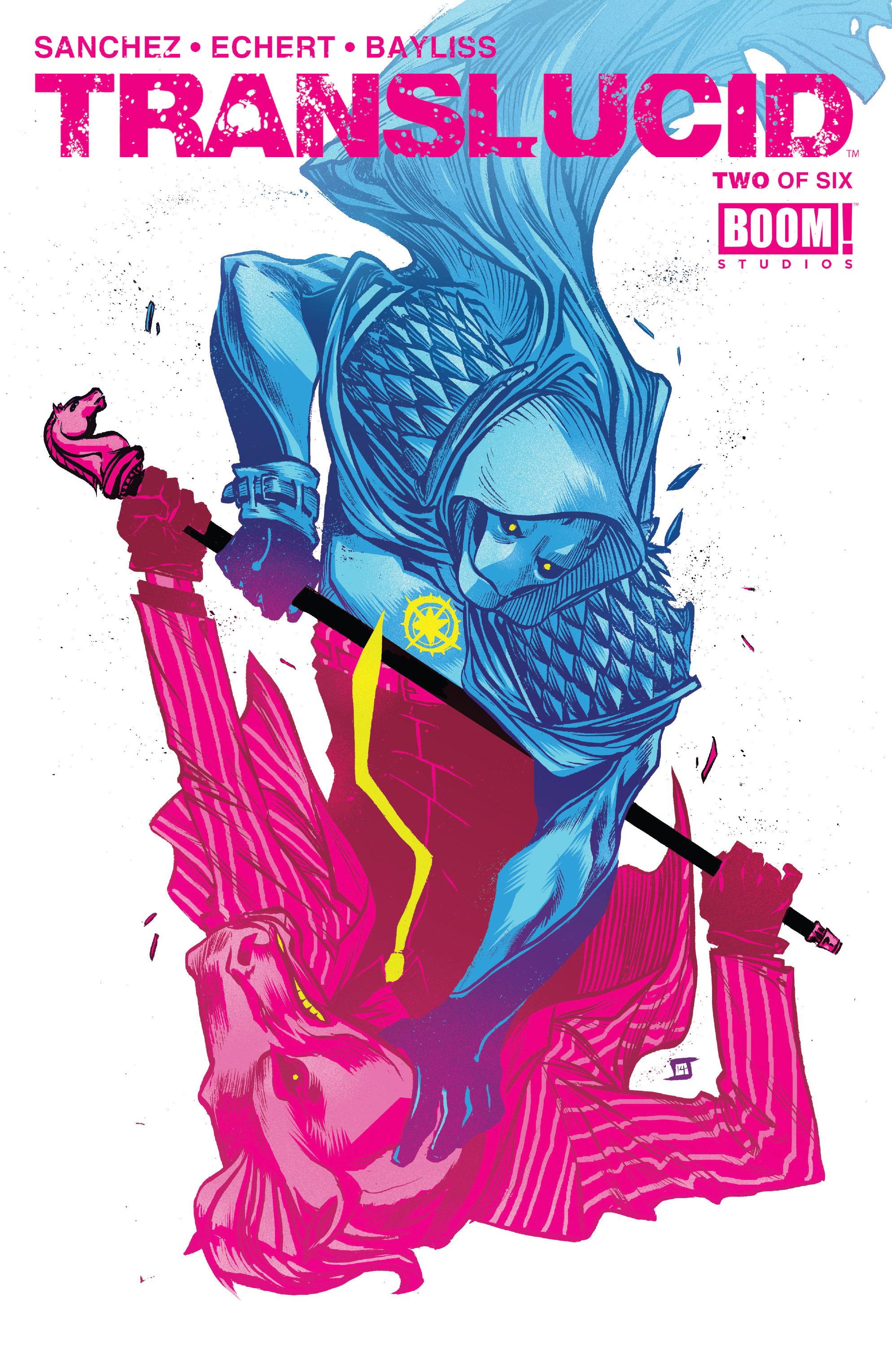 Read online Translucid comic -  Issue #2 - 1