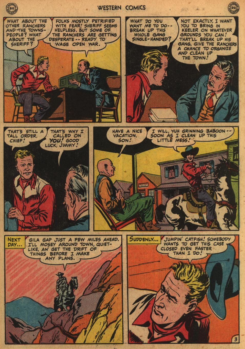 Western Comics issue 1 - Page 5