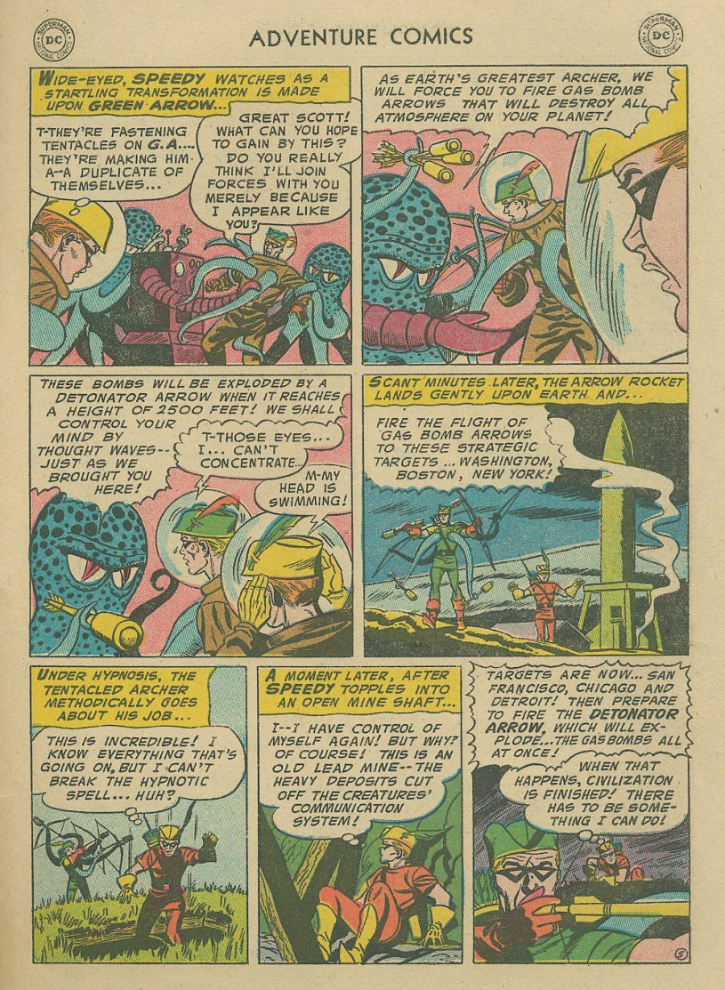 Read online Adventure Comics (1938) comic -  Issue #221 - 30