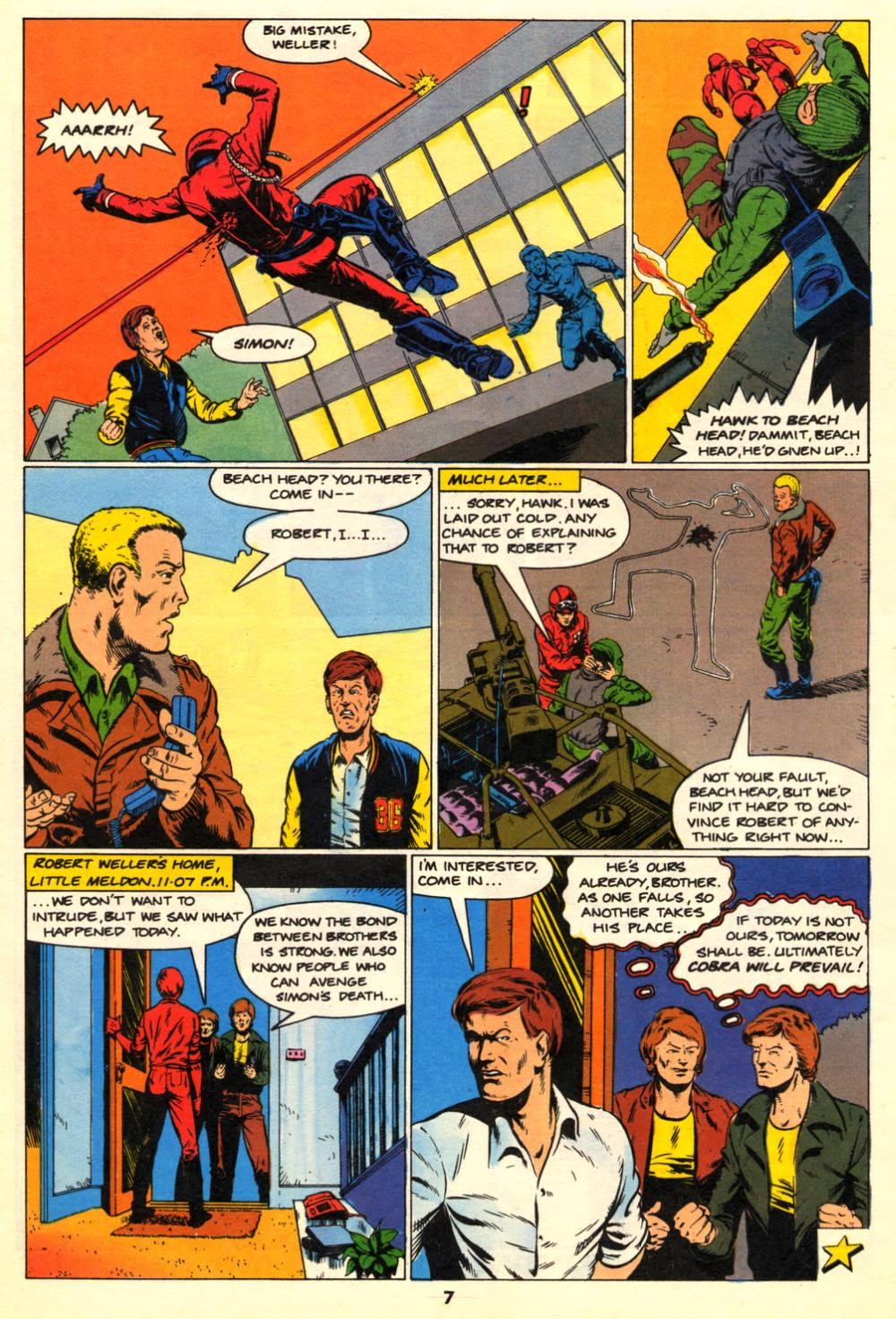 G.I. Joe European Missions issue 10 - Page 7
