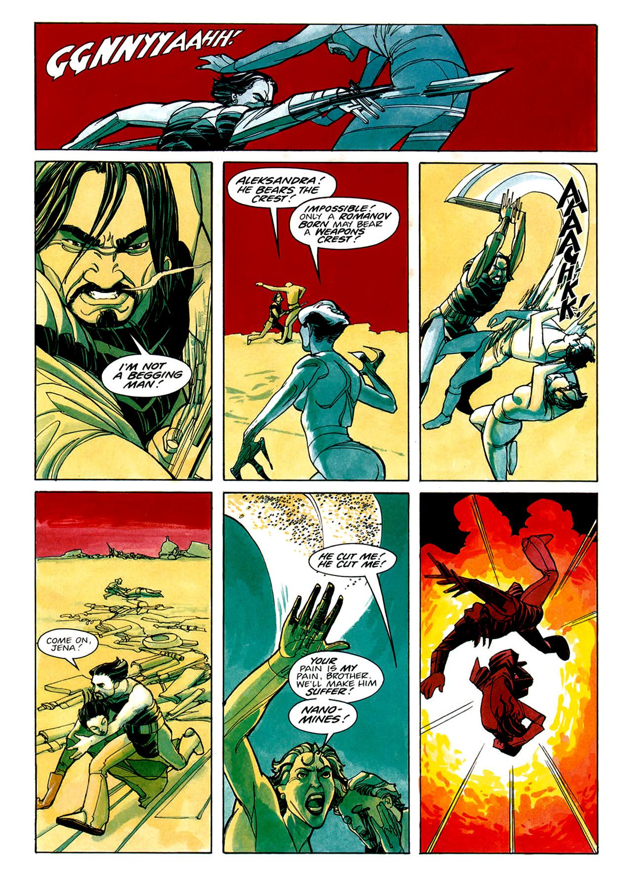 Read online Nikolai Dante comic -  Issue # TPB 1 - 32