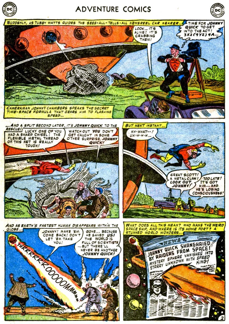 Read online Adventure Comics (1938) comic -  Issue #177 - 26