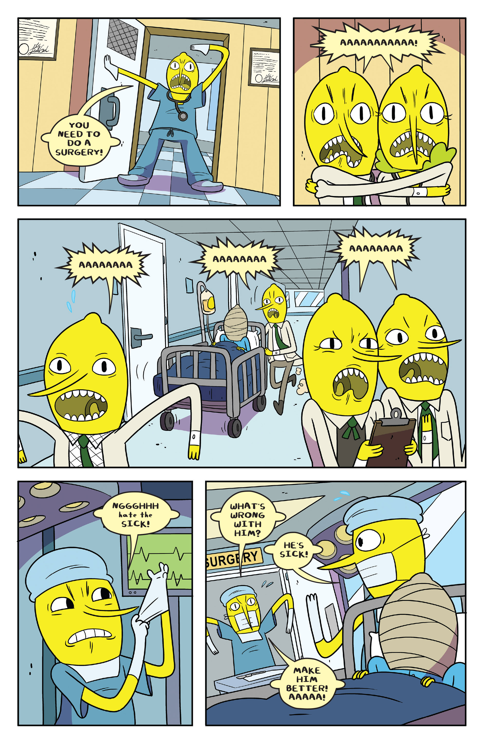 Read online Adventure Time comic -  Issue #55 - 7