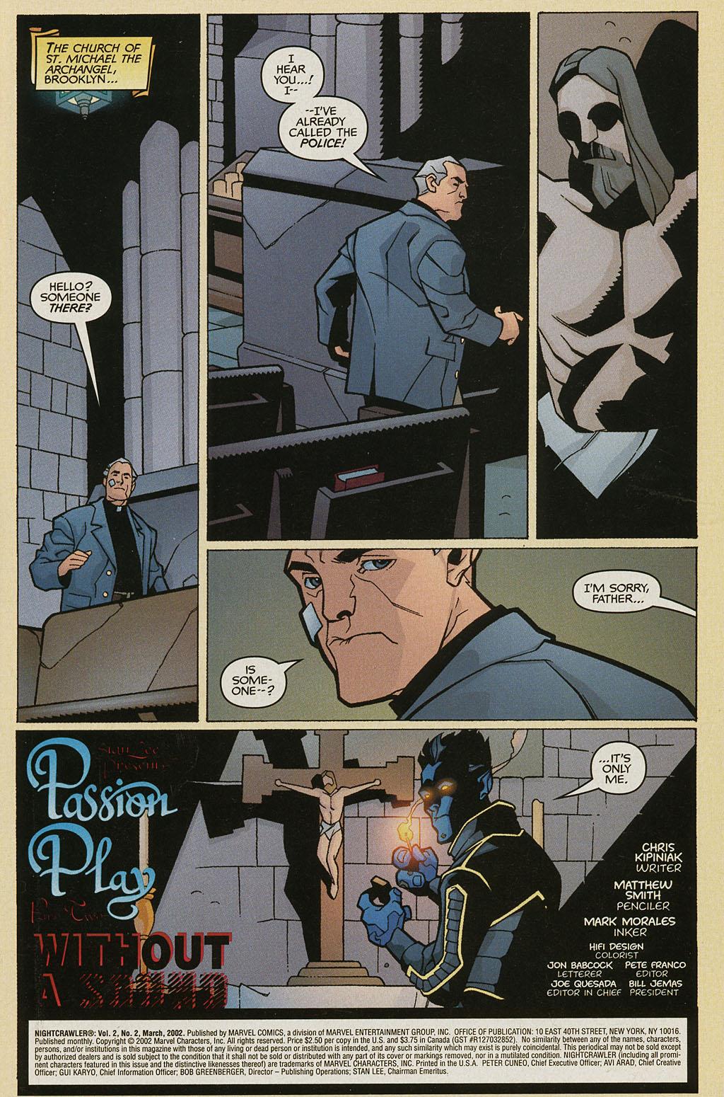 Read online Nightcrawler (2002) comic -  Issue #2 - 2