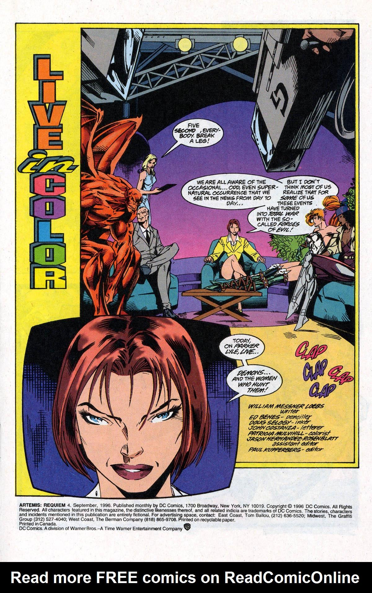 Read online Artemis: Requiem comic -  Issue #4 - 3