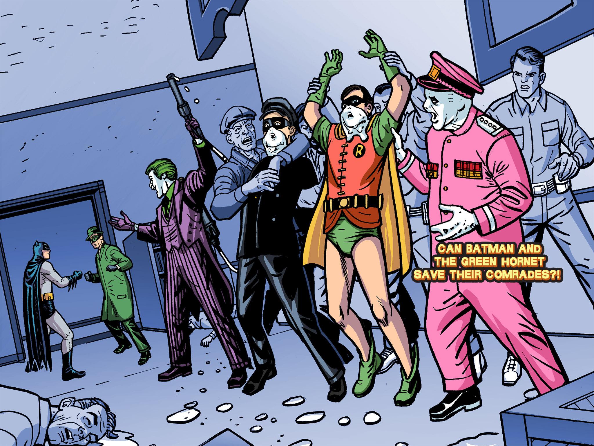 Read online Batman '66 Meets the Green Hornet [II] comic -  Issue #4 - 116