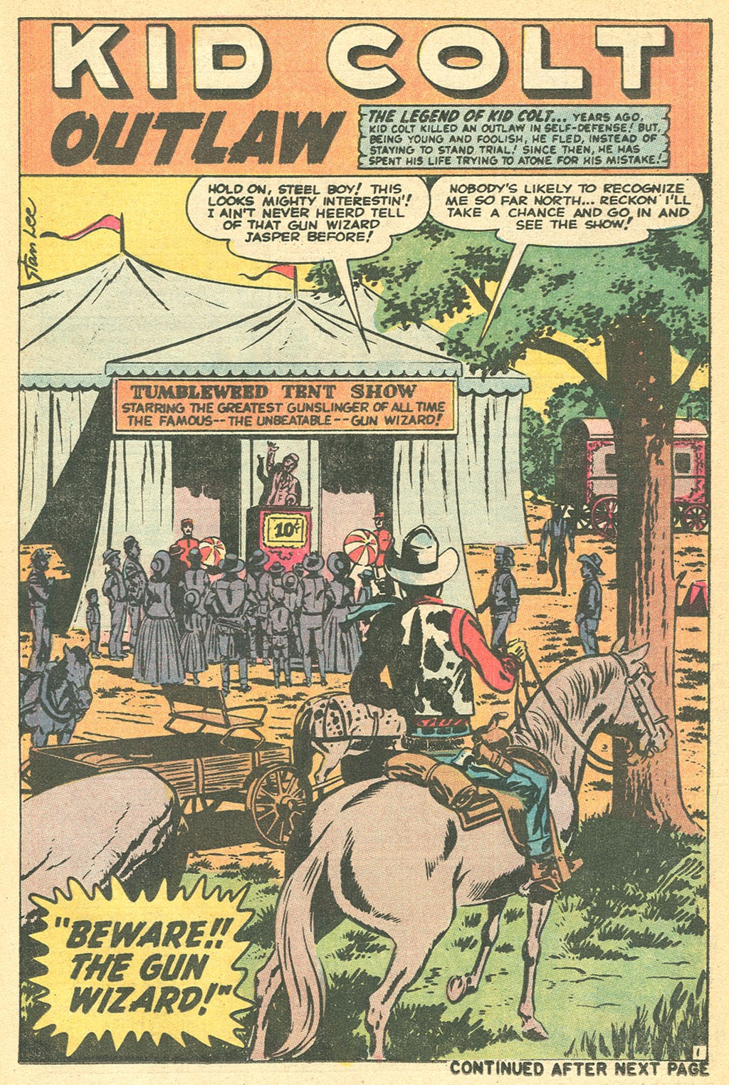 Kid Colt Outlaw issue 152 - Page 25
