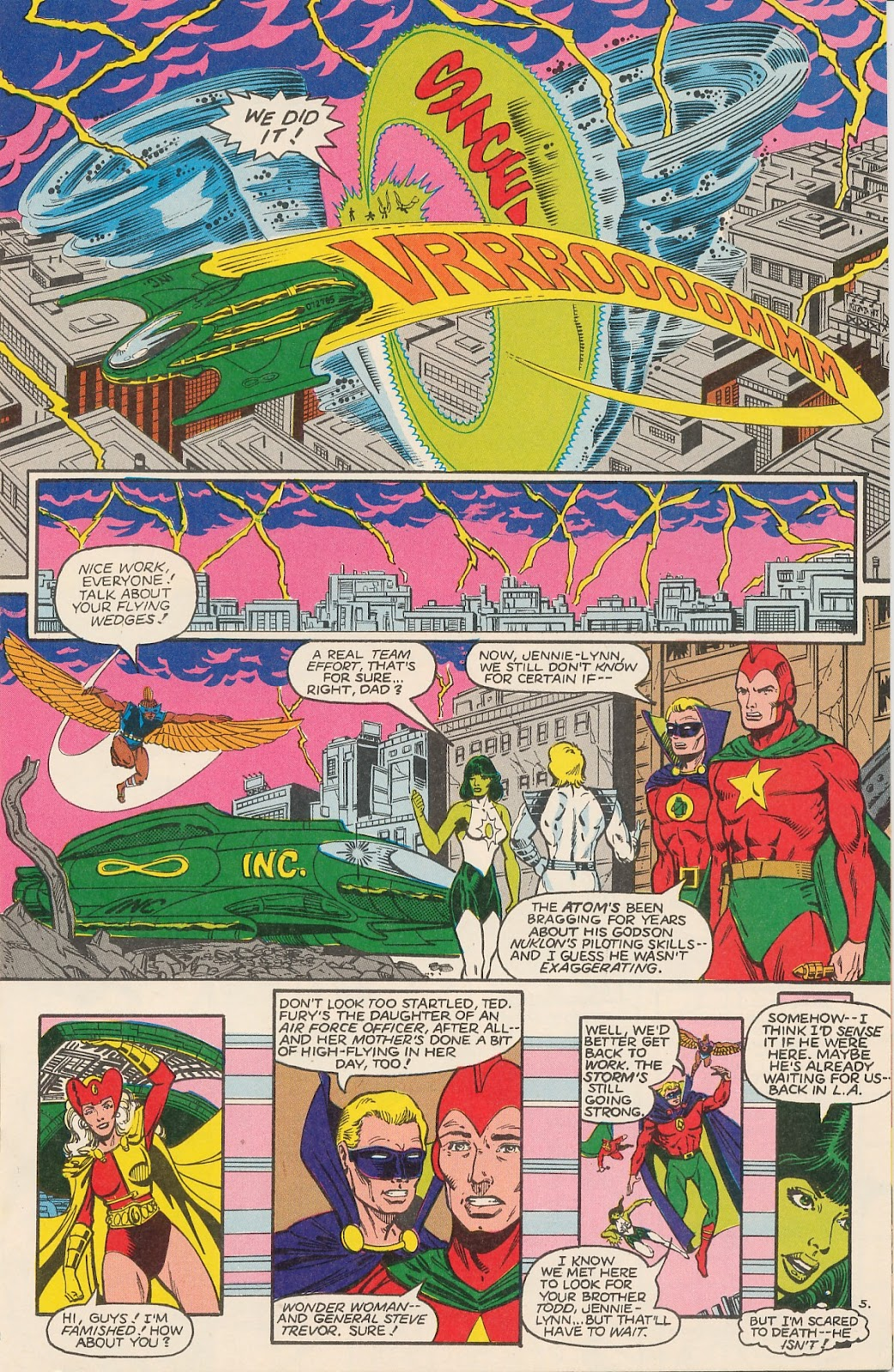Infinity Inc. (1984) issue 20 - Page 9