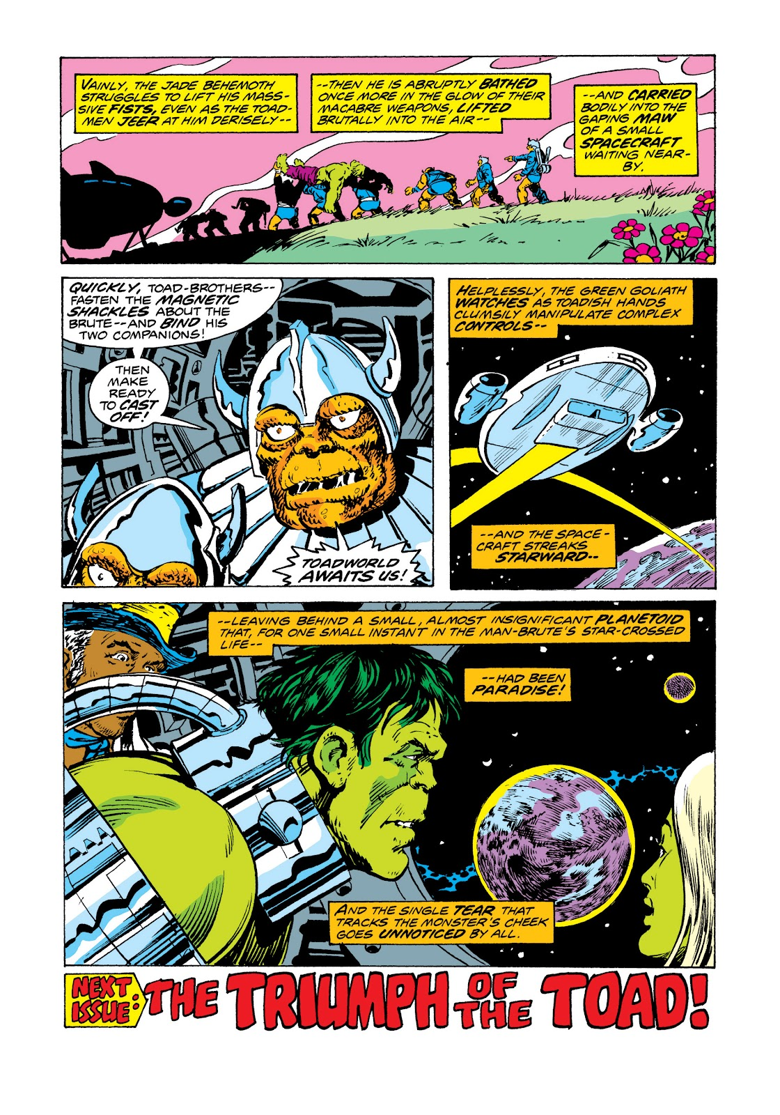 Read online Marvel Masterworks: The Incredible Hulk comic -  Issue # TPB 11 (Part 2) - 38