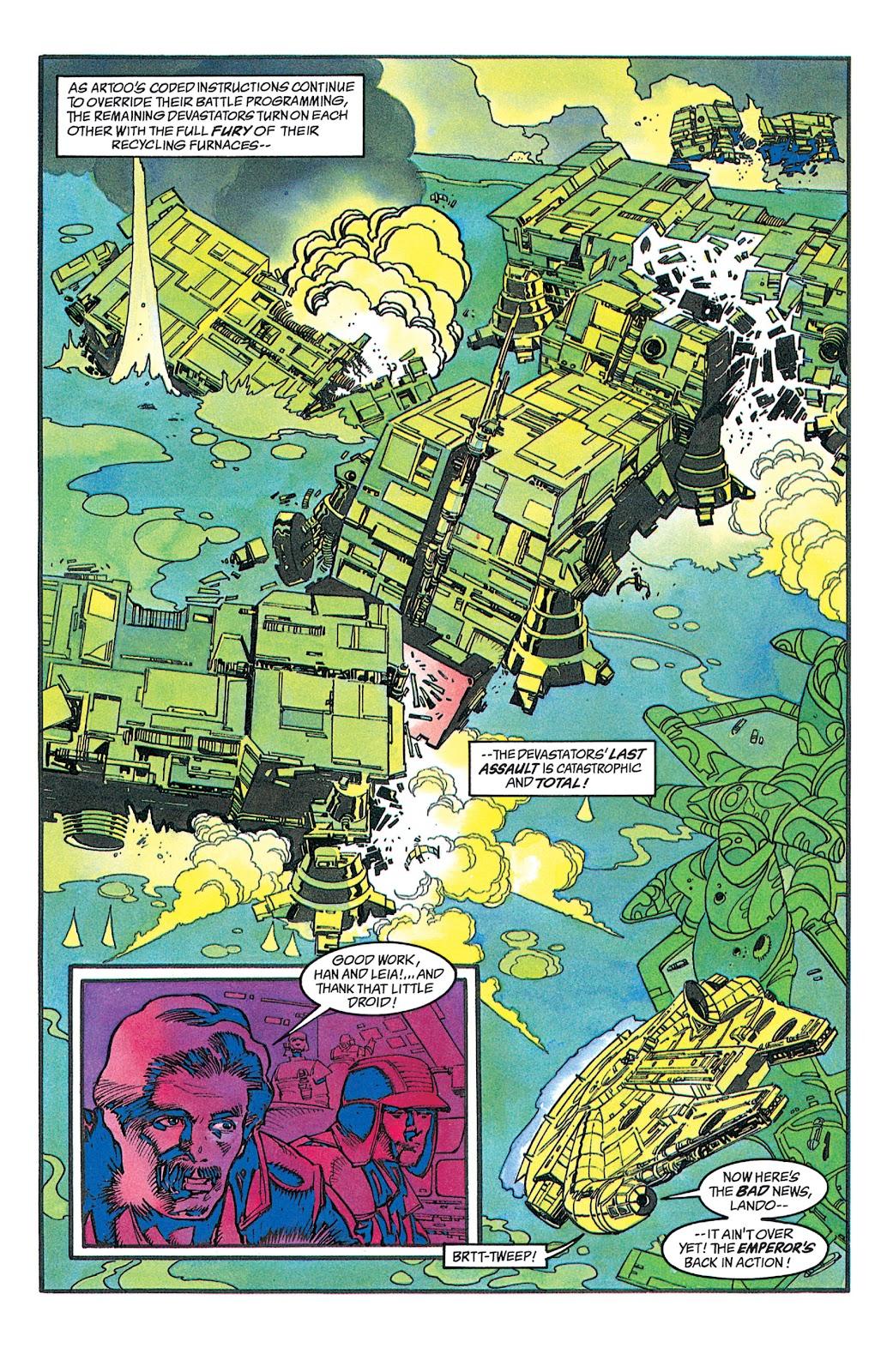 Read online Star Wars: Dark Empire Trilogy comic -  Issue # TPB (Part 2) - 40