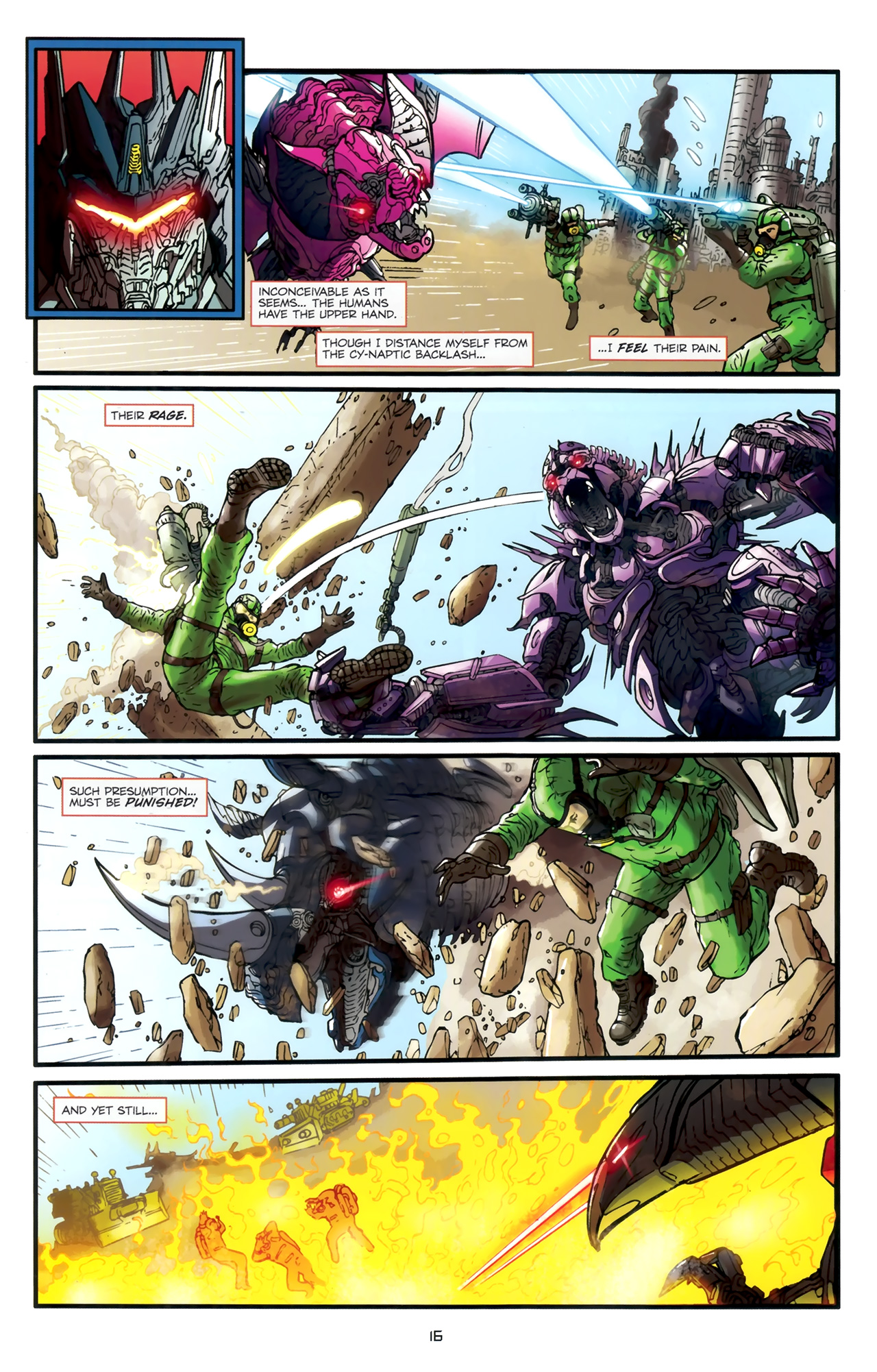 Read online Transformers: Nefarious comic -  Issue #1 - 20