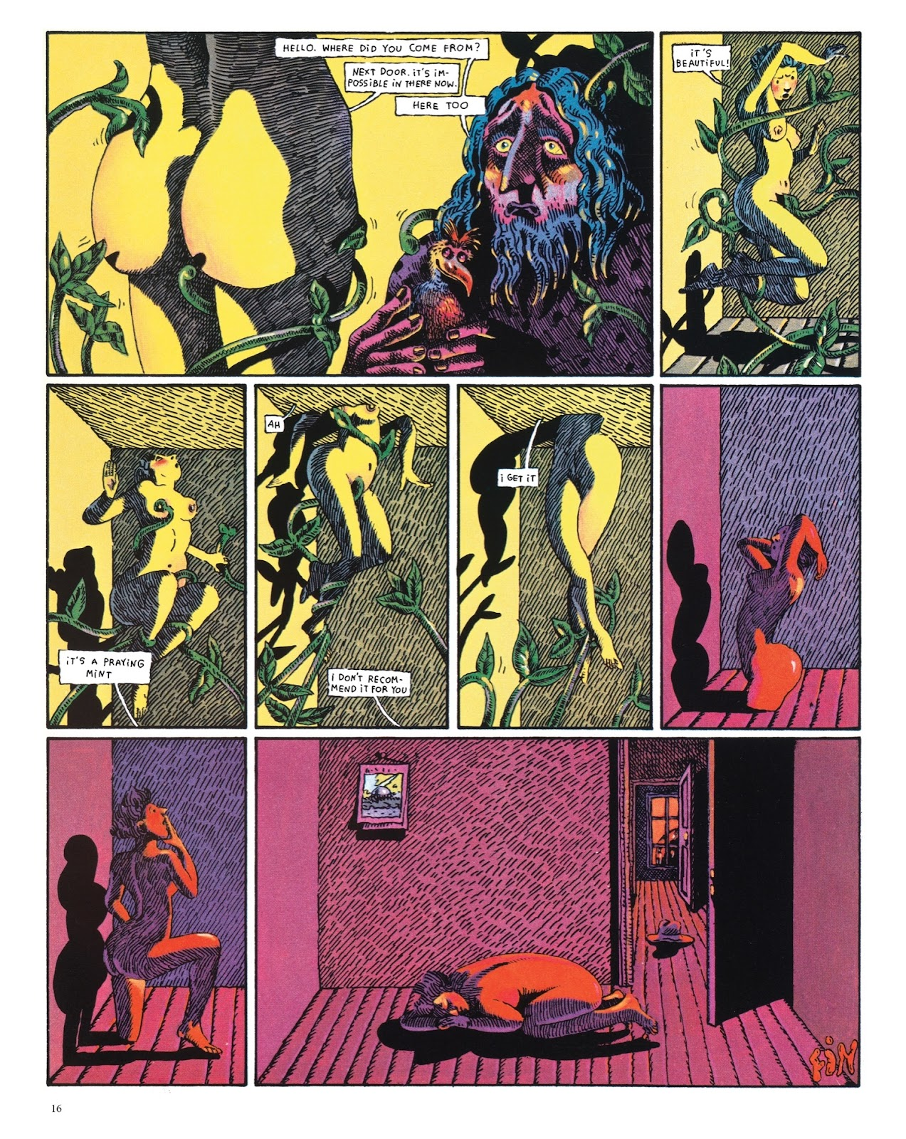 Read online The Green Hand and Other Stories comic -  Issue # TPB - 15