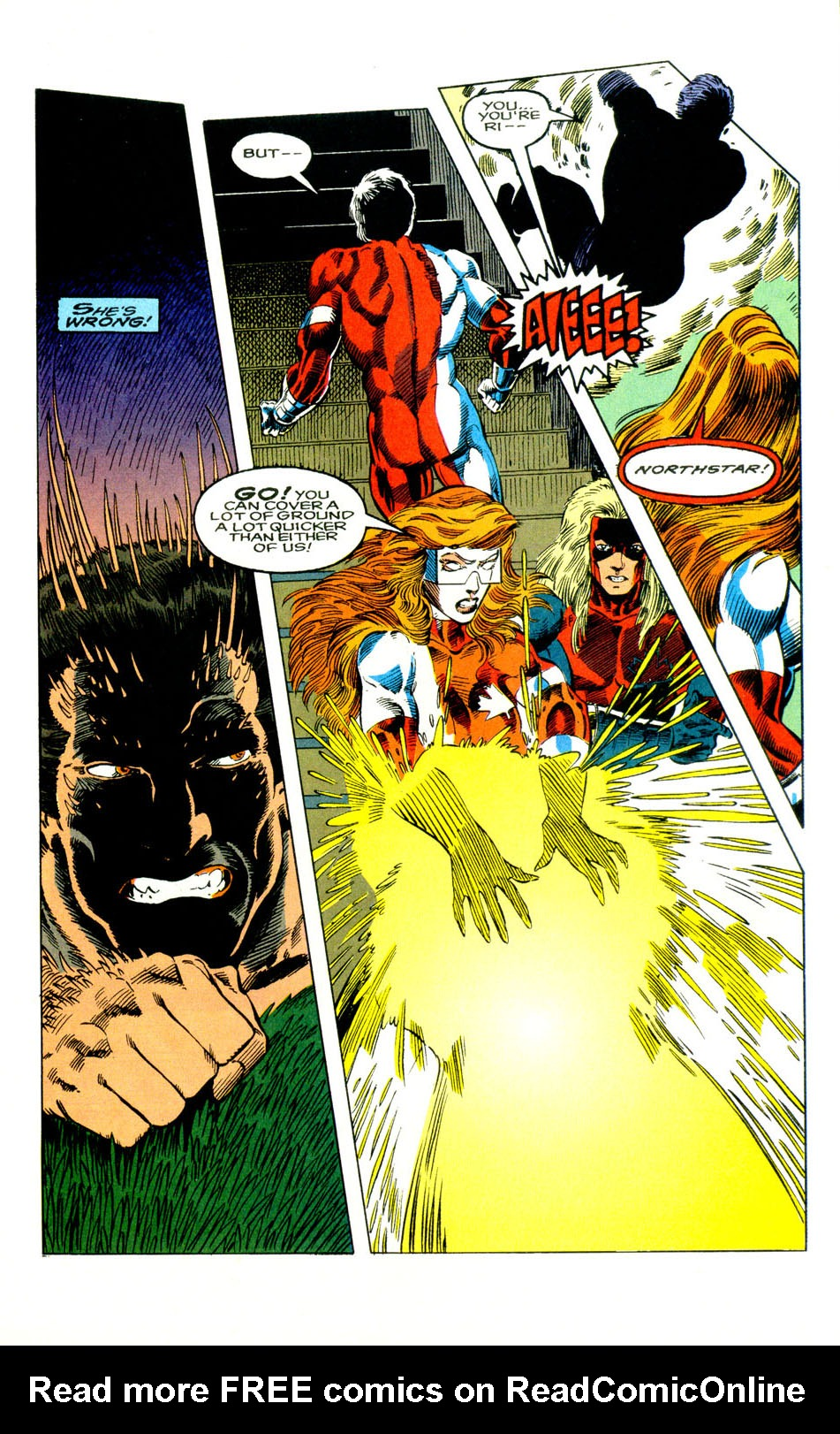 Read online Alpha Flight (1983) comic -  Issue #123 - 14