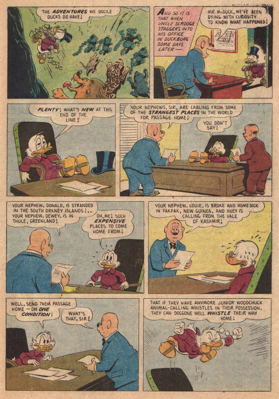 Read online Uncle Scrooge (1953) comic -  Issue #19 - 29