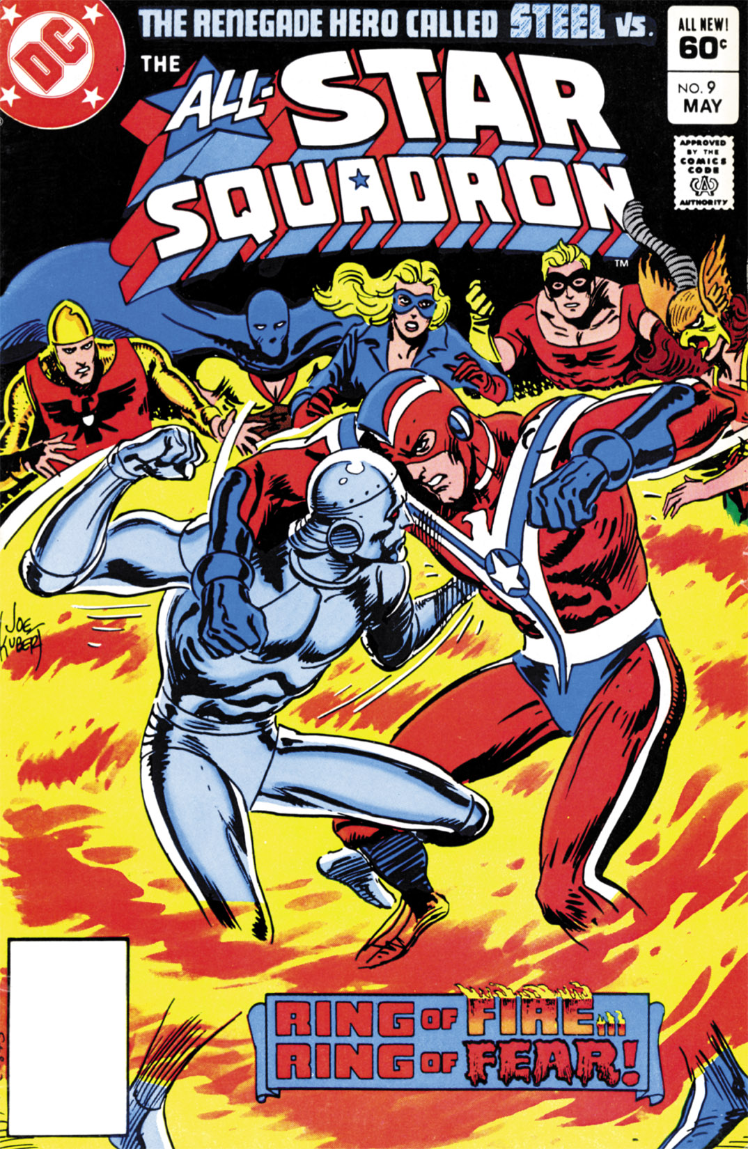 Read online All-Star Squadron comic -  Issue #9 - 1