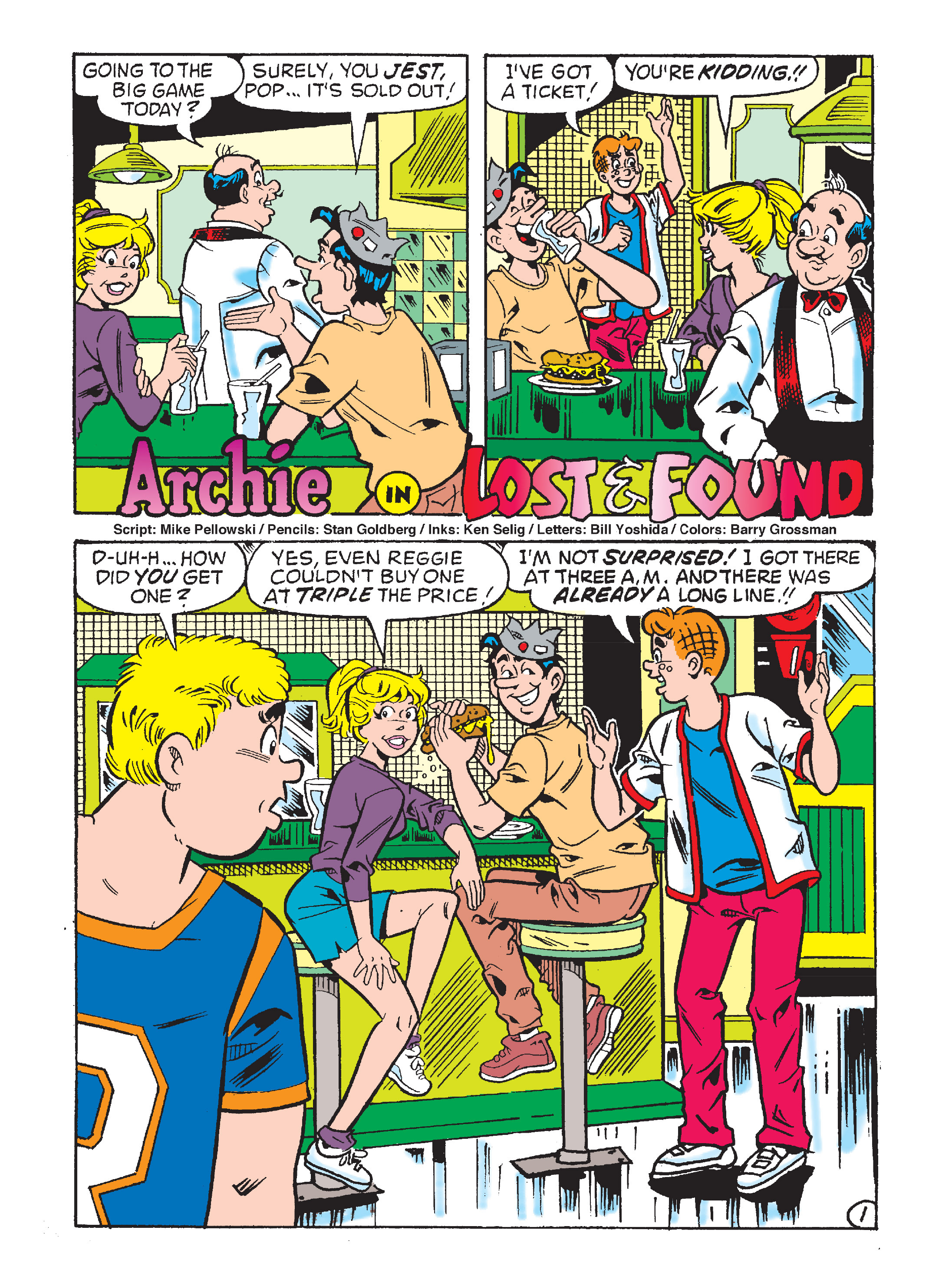 Read online Archie's Funhouse Double Digest comic -  Issue #8 - 84