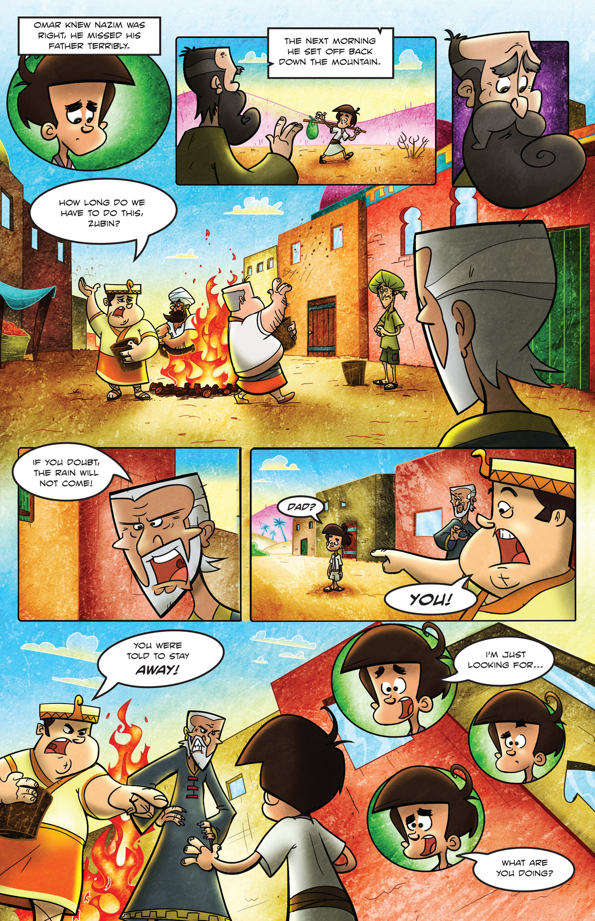 Read online 1001 Nights comic -  Issue #2 - 18