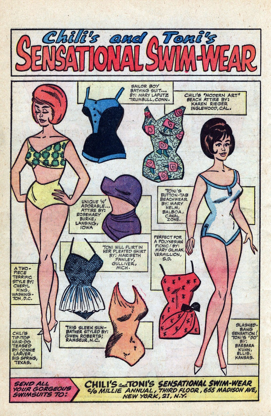 Read online Millie the Model comic -  Issue # Annual 3 - 30