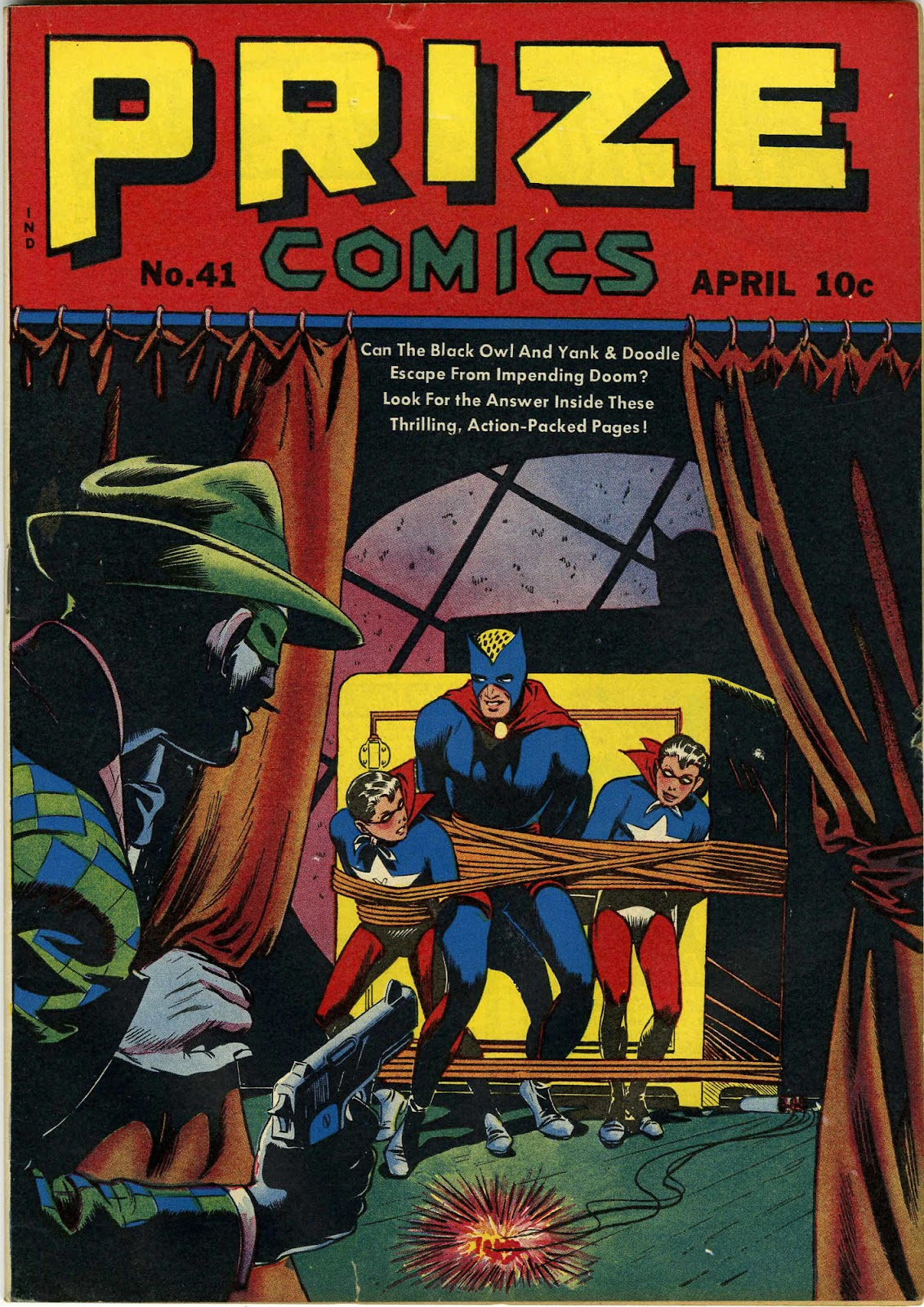 Prize Comics 41 Page 1