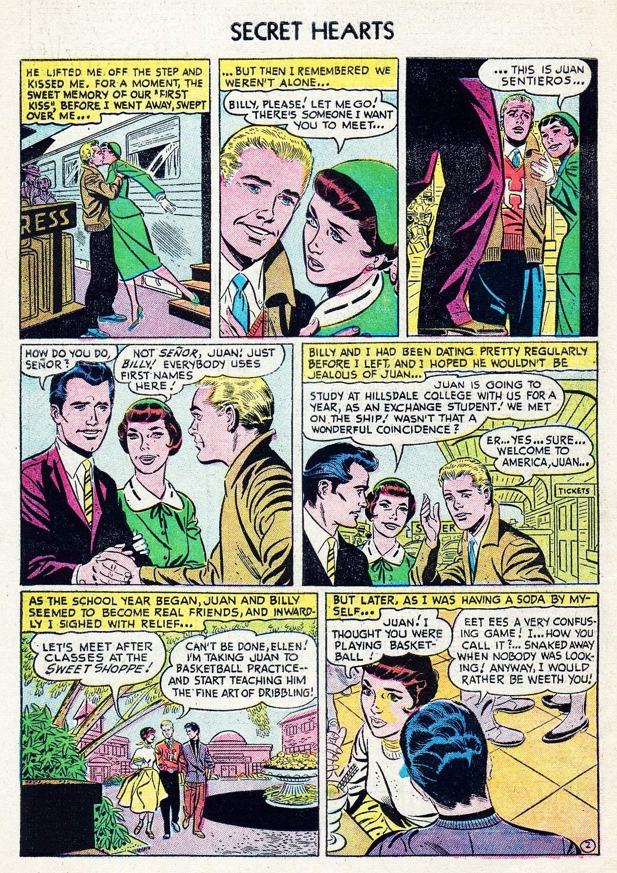 Read online Secret Hearts comic -  Issue #29 - 4
