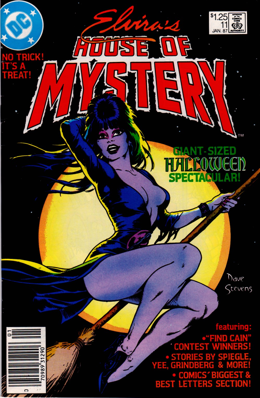 Elvira's House of Mystery Issue #11 #12 - English 1