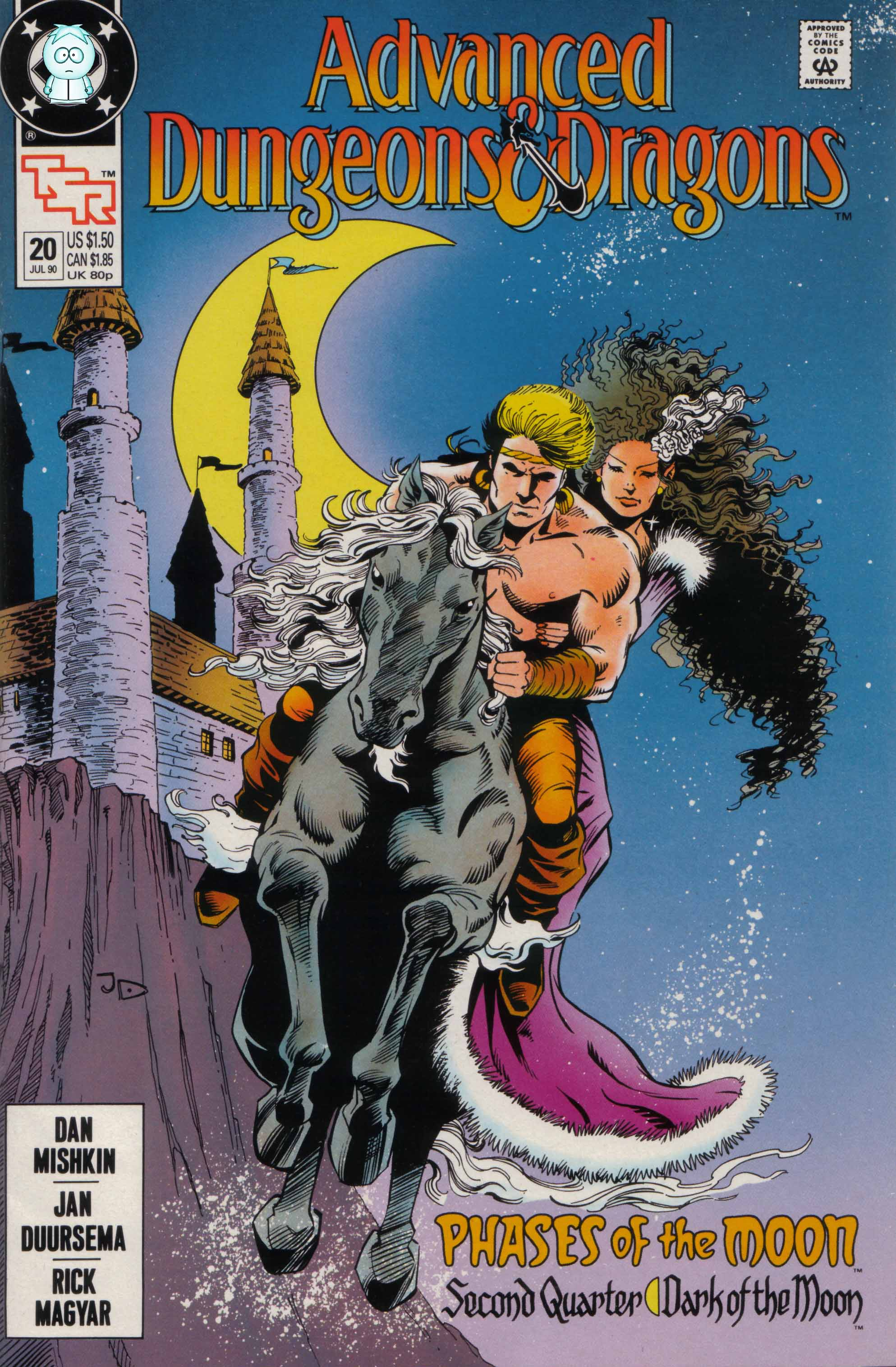 Read online Advanced Dungeons & Dragons comic -  Issue #20 - 1